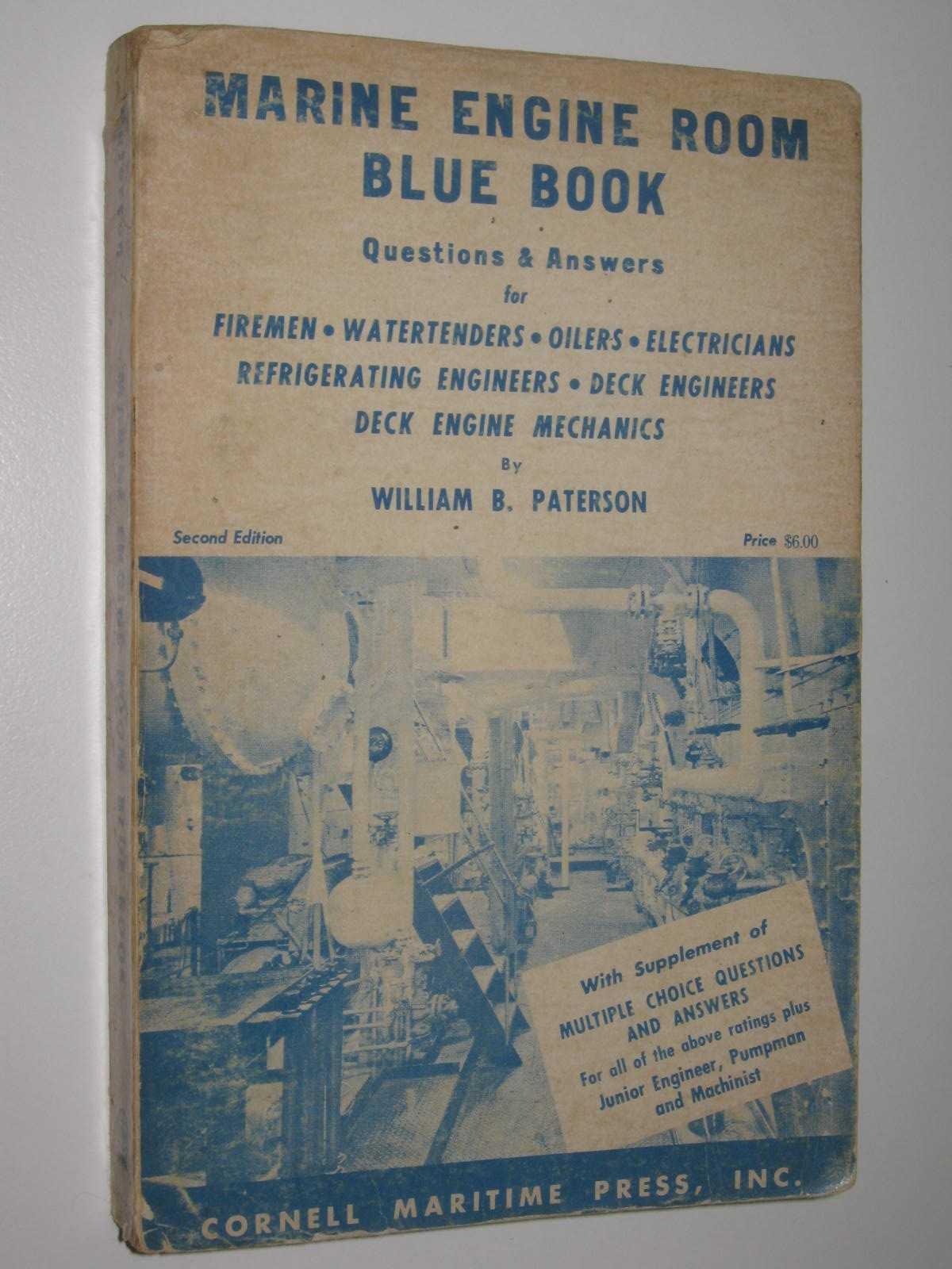 Image for Marine Engine Room Blue Book