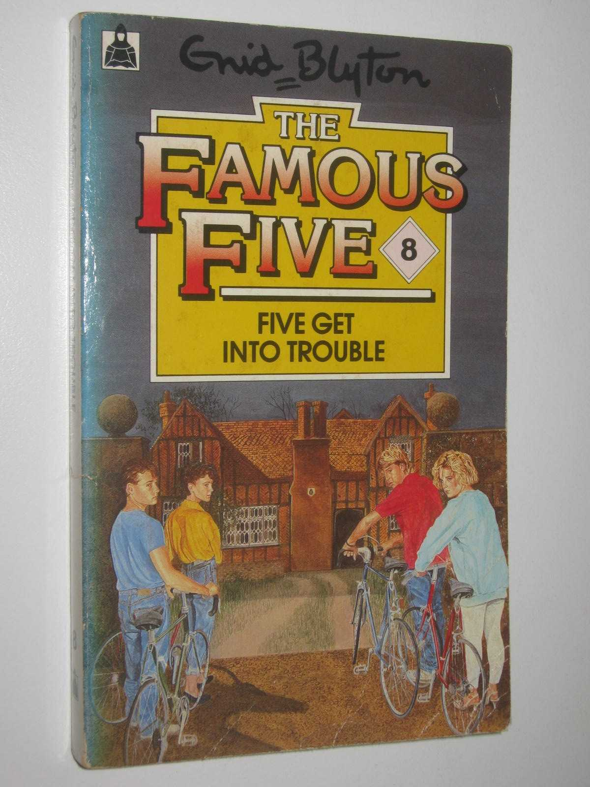 Image for Five Get Into Trouble - Famous Five Series #8