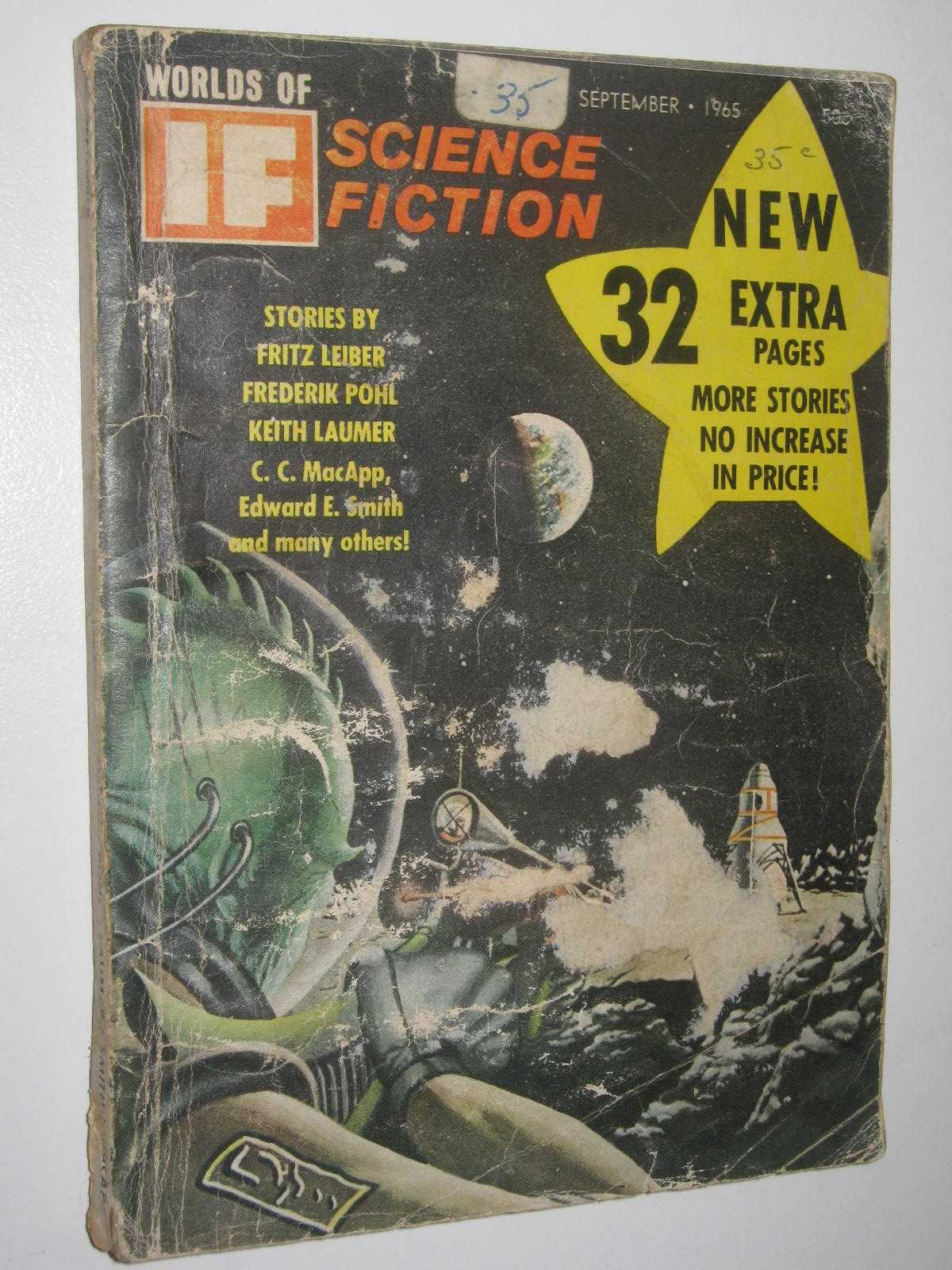 Image for IF: Worlds of Science Fiction September 1965 : Vol. 15, No. 9