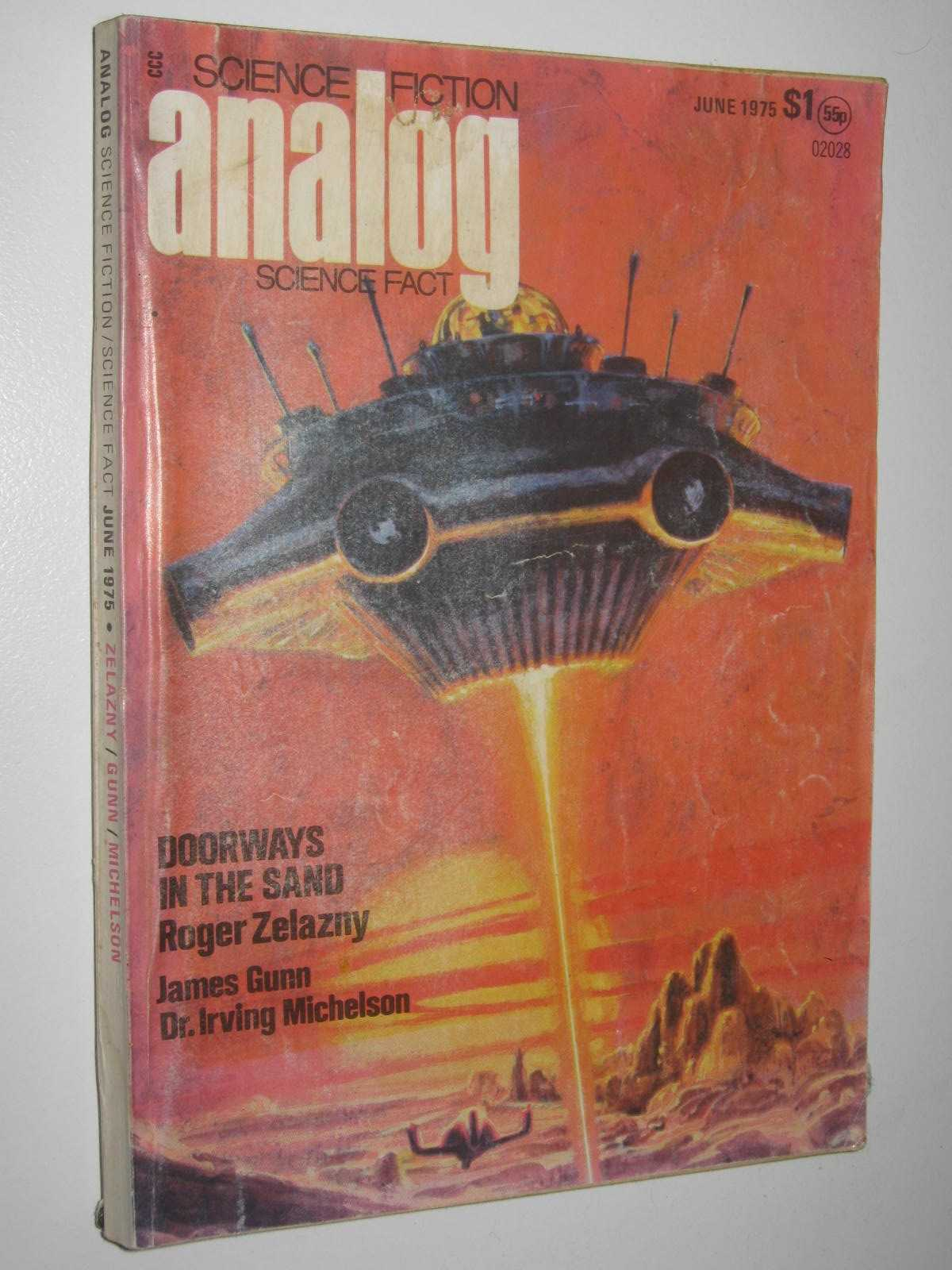 Image for Analog Science Fiction and Fact June 1975 : Vol. XCV, No. 6