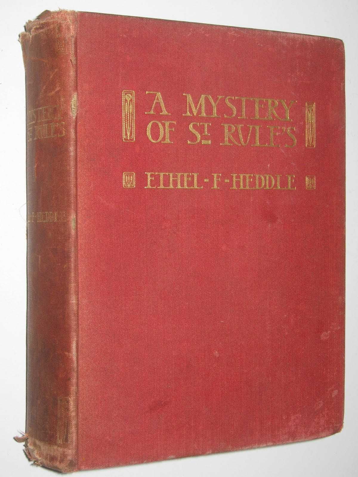 Image for A Mystery of St Rule's