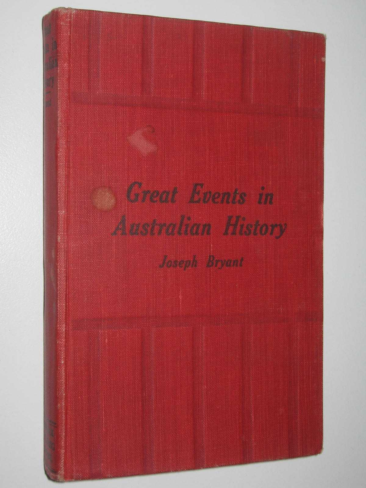 Image for Great Events in Australian History