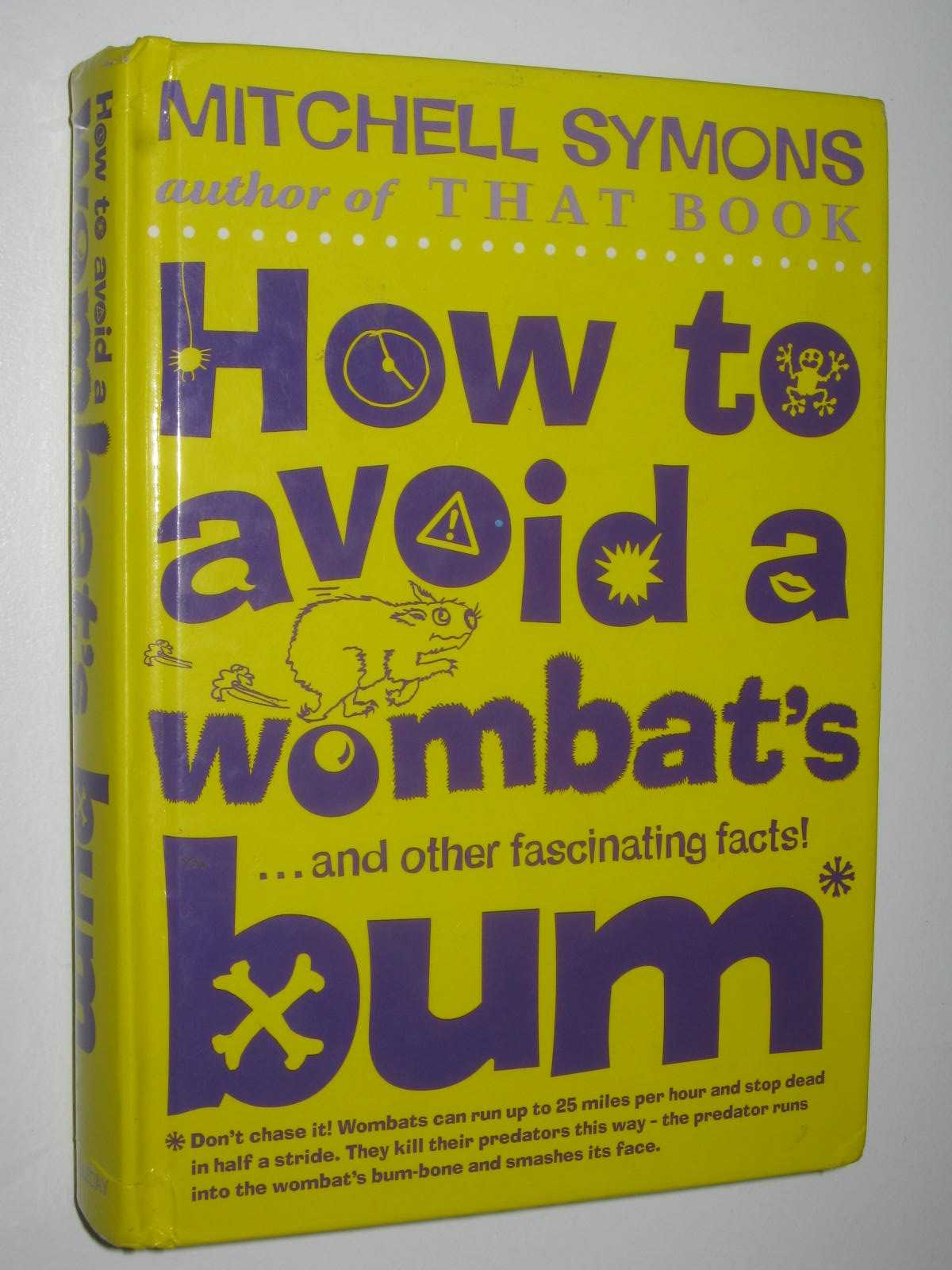 Image for How to Avoid a Wombat's Bum