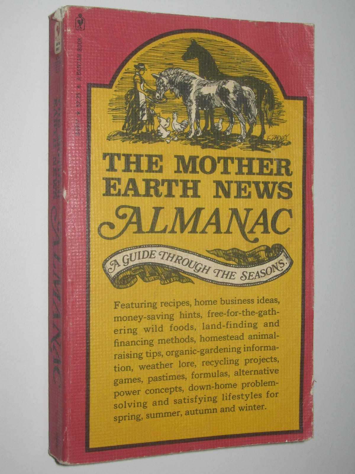 Image for The Mother Earth News Almanac : A Guide Through the Seasons