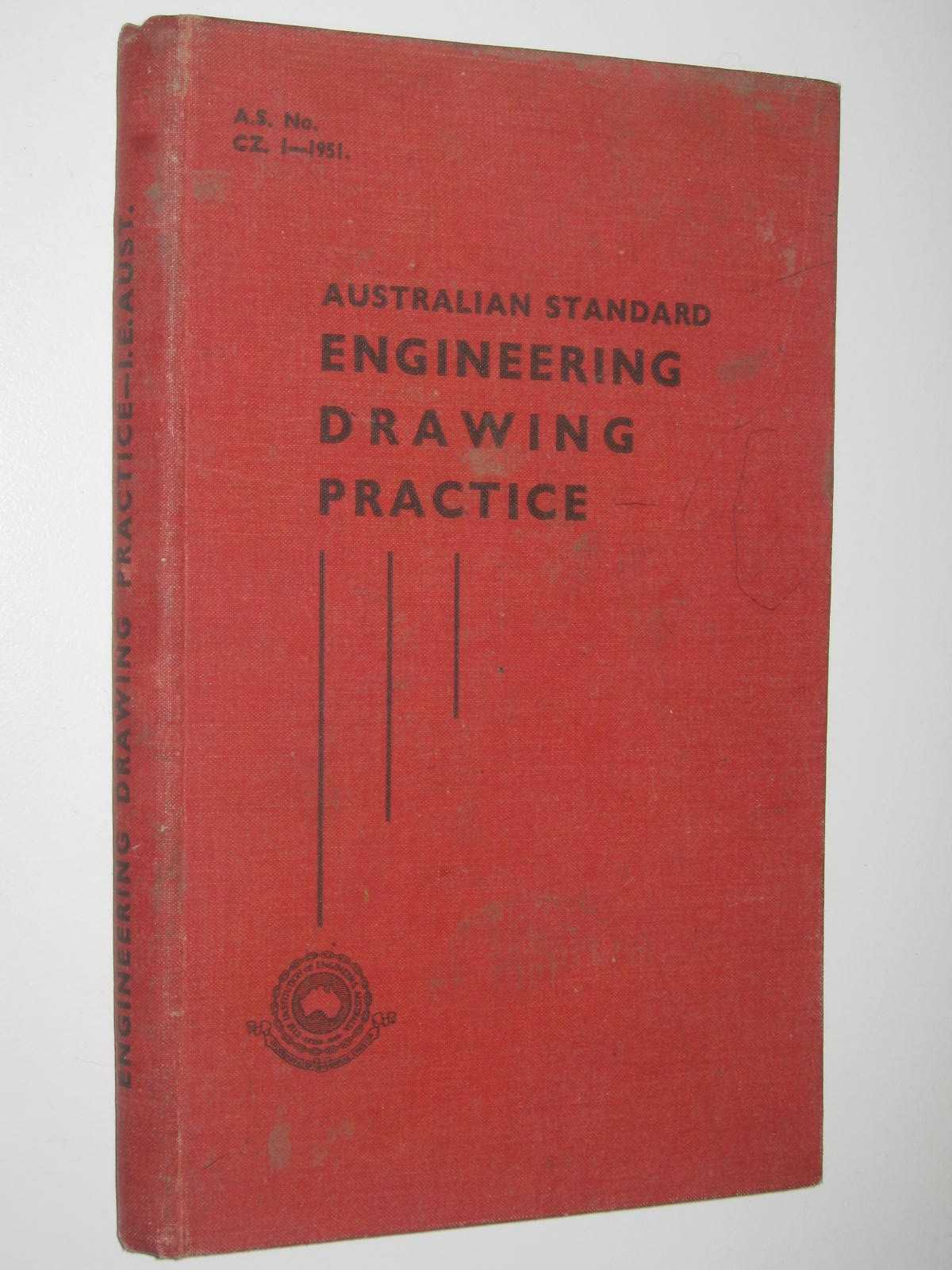 Image for Australian Standard Engineering Drawing Practice AS CZ 1-1951