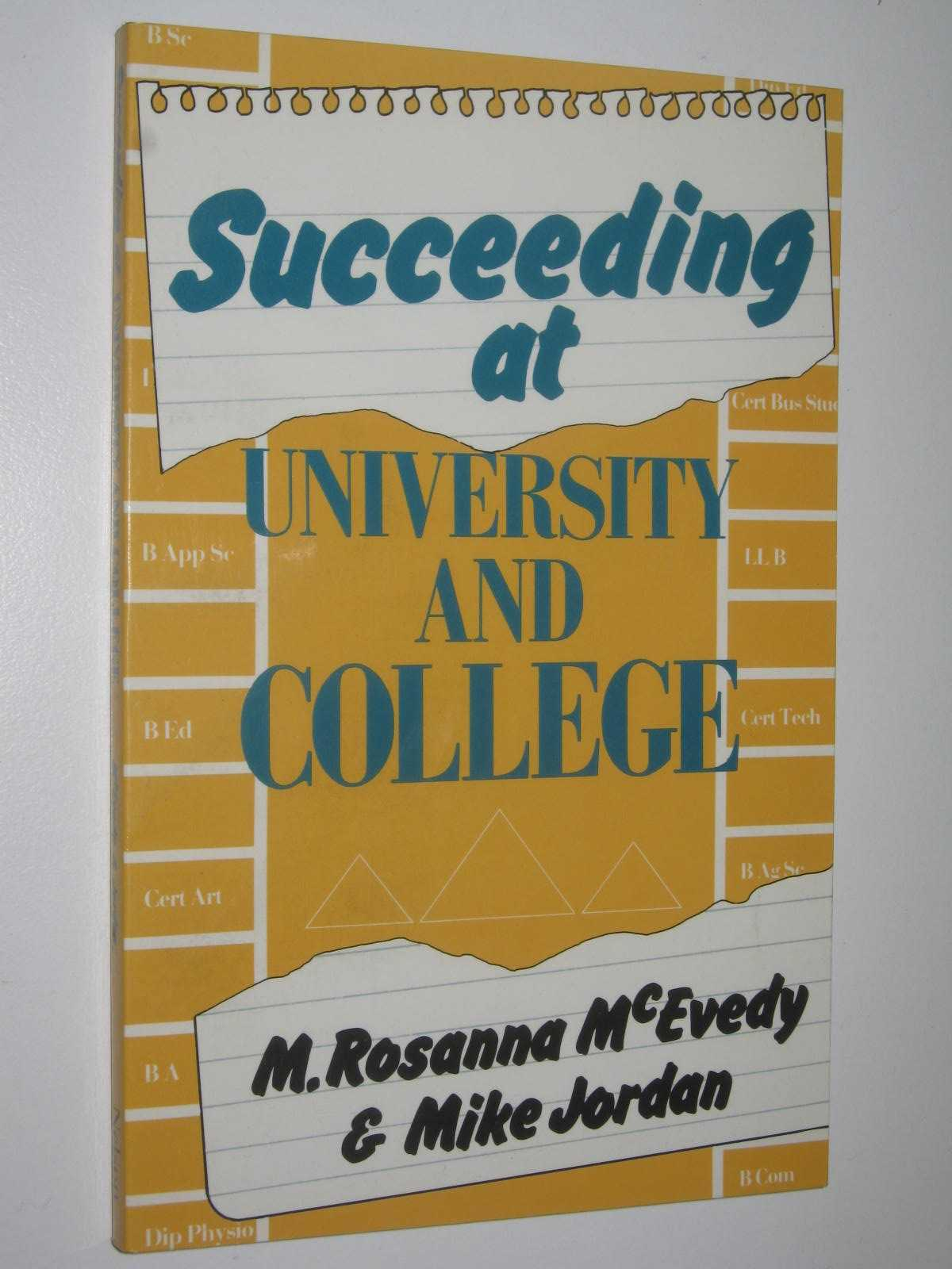 Image for Succeeding at University and College