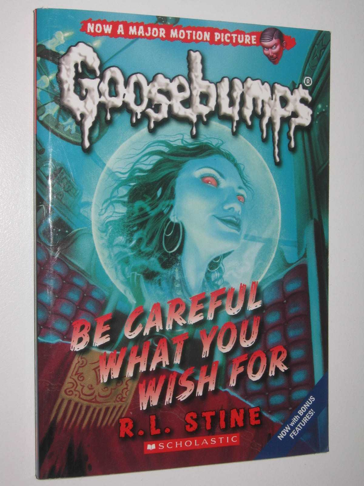 Image for Be Careful What You Wish For - Goosebumps Classic Series #7
