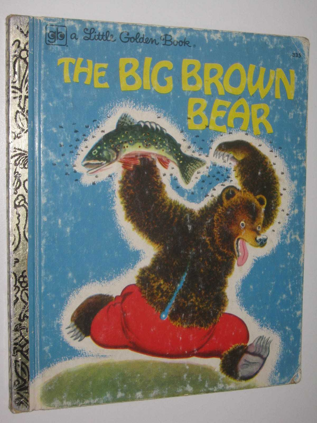 Image for The Big Brown Bear - Little Golden Book Series