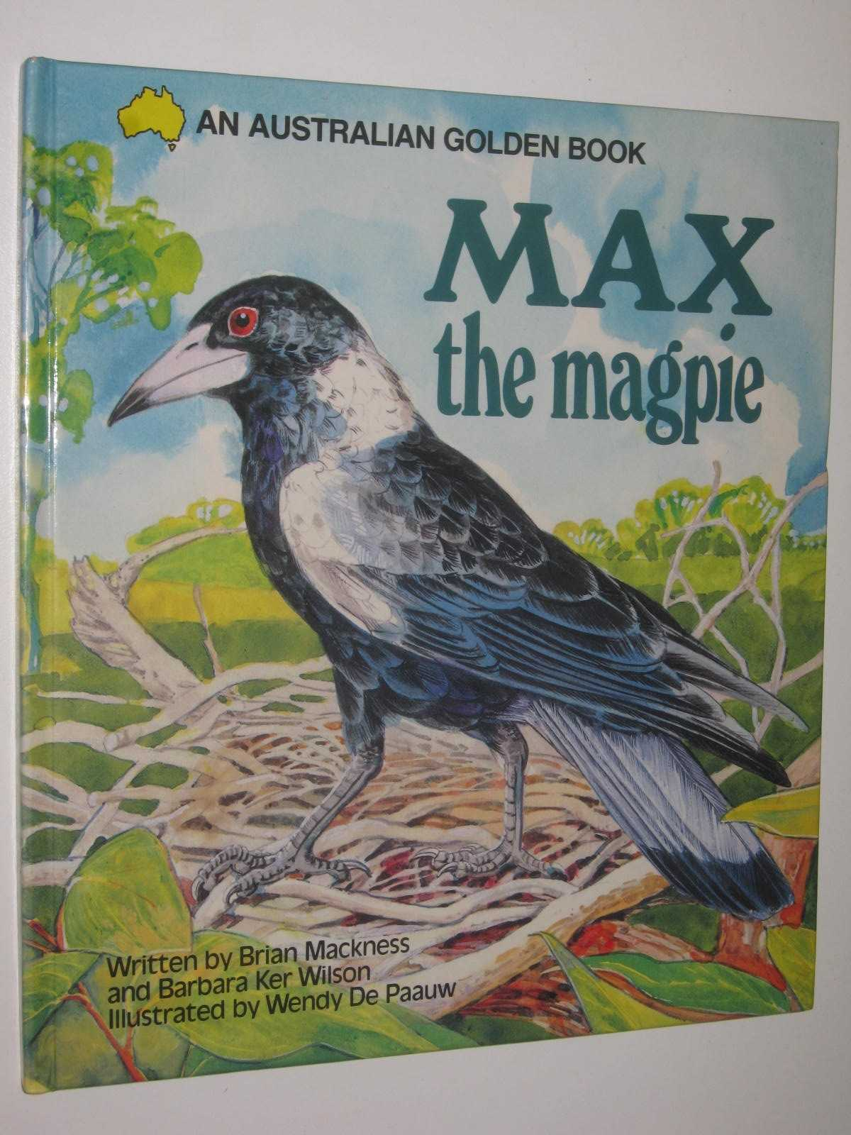 Image for Max the Magpie - An Australian Golden Book Series
