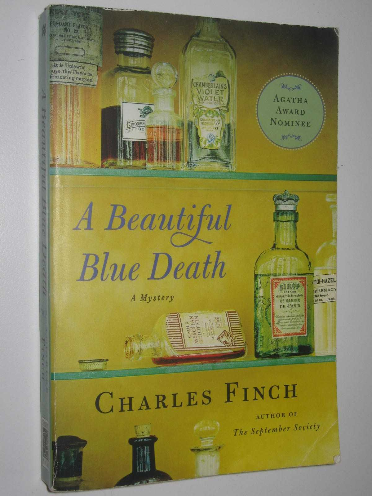 Image for A Beautiful Blue Death - Charles Lenox Mystery #1