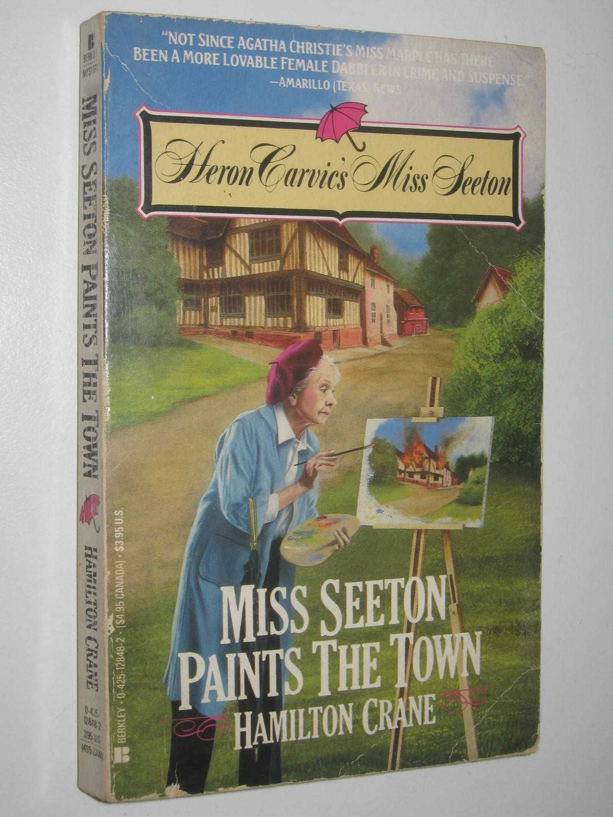 Image for Miss Seeton Paints The Town