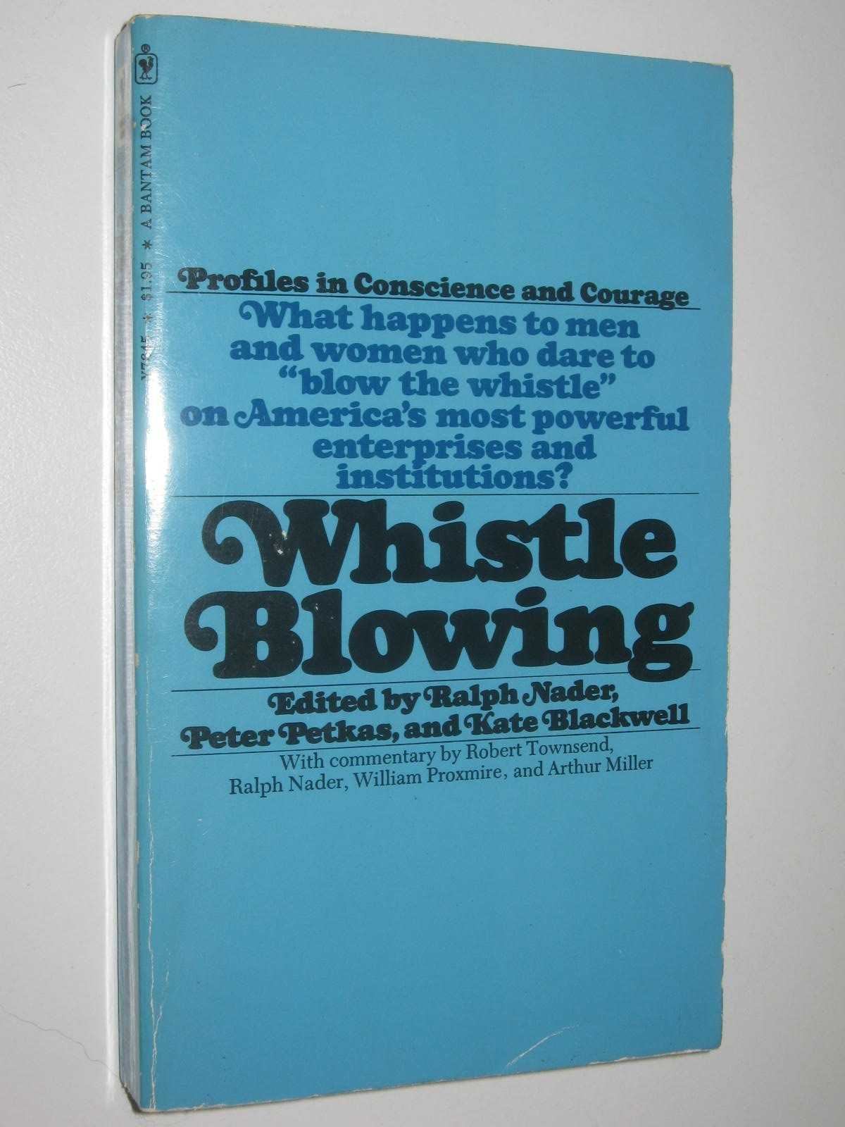 Image for Whistle Blowing : The Report of the Conference on Professional Responsibility