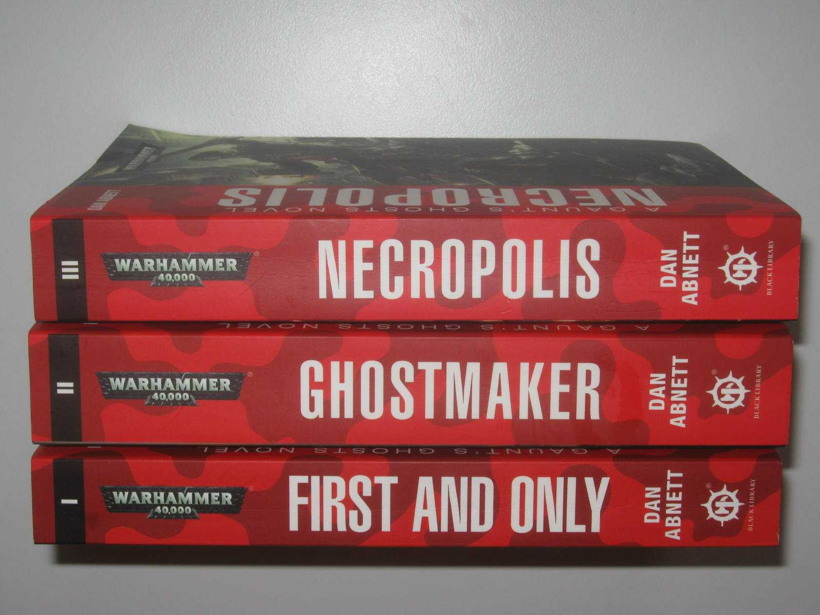 Image for Gaunt's Ghosts 1-3: The Founding Trilogy : First and Only + Ghostmaker + Necropolis