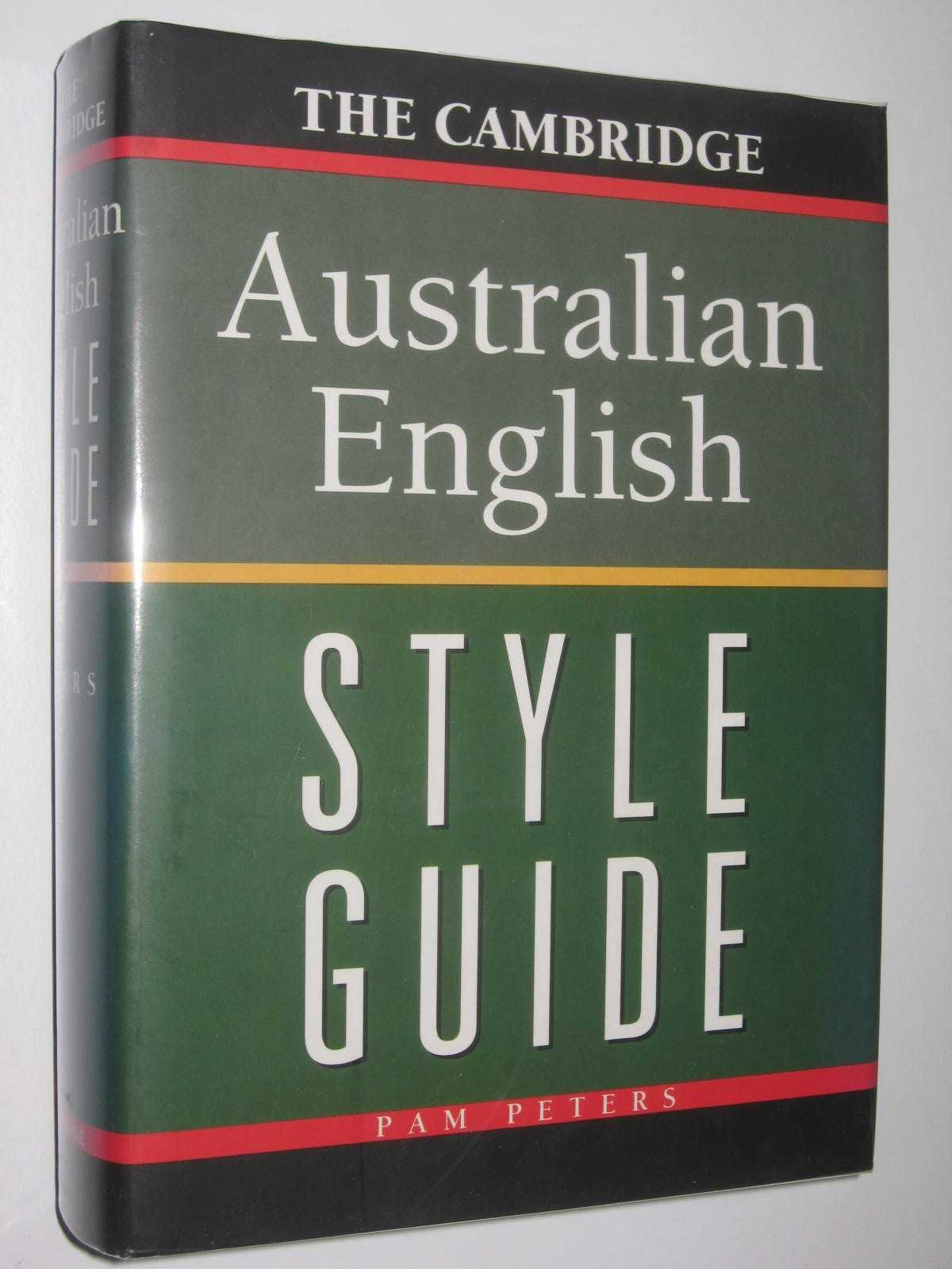 Image for The Cambridge Australian English Style Guide