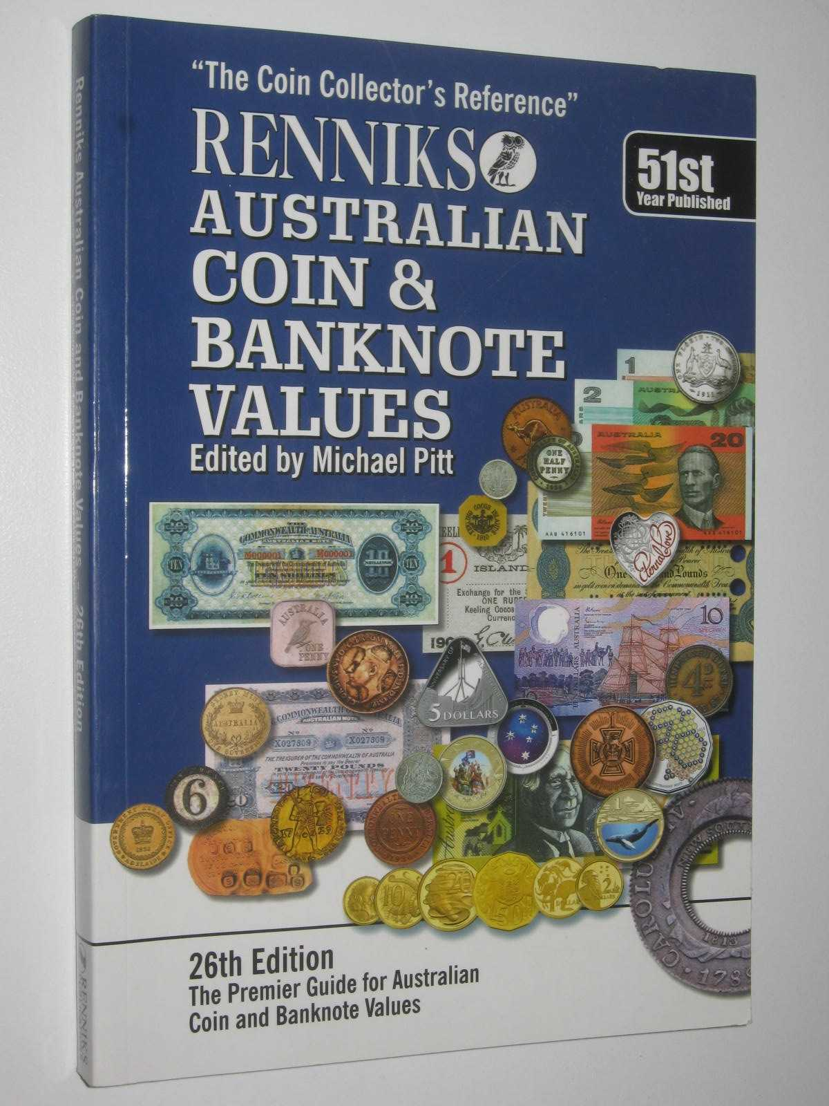 Image for Renniks Australian Coin and Banknote Values 26th Edition