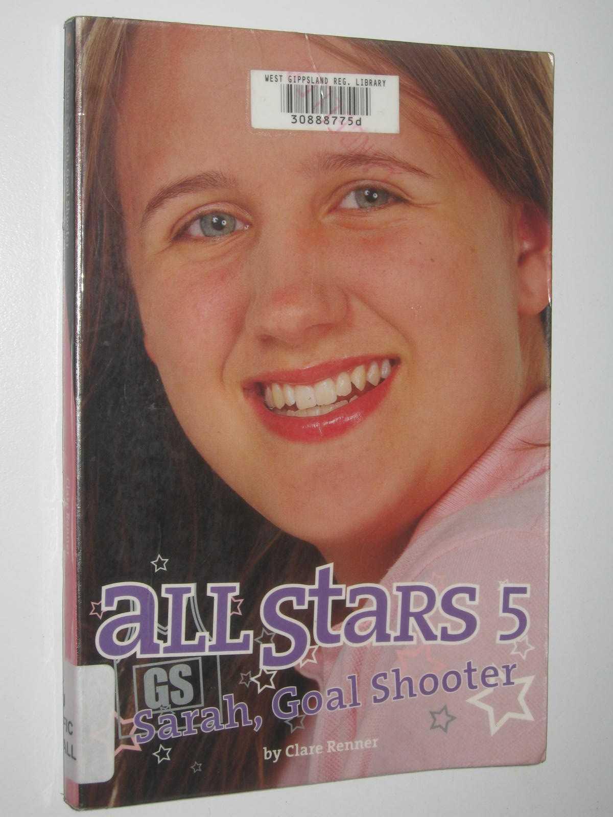 Image for All Stars 5 : Sarah, Goal Shooter