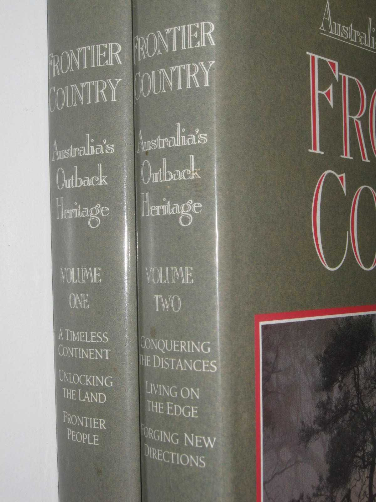 Image for Frontier Country Vol 1 & 2 : Australia's Outback Heritage