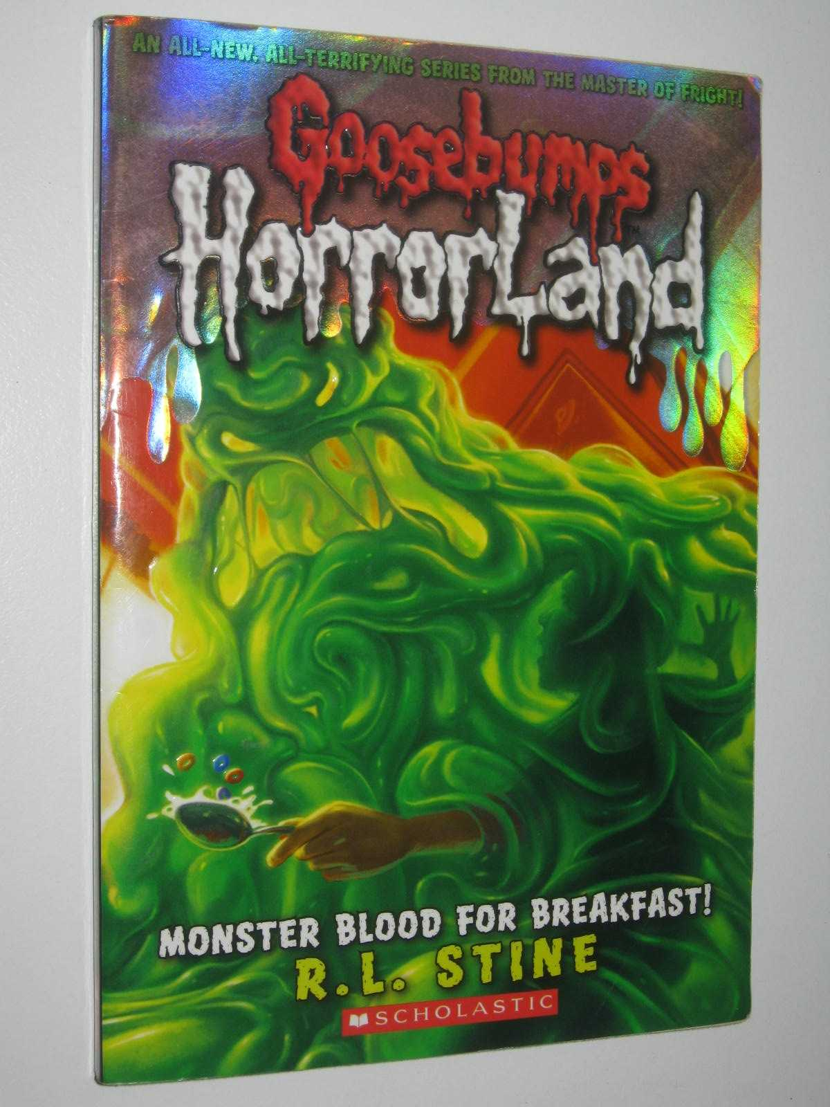 Image for Monster Blood For Breakfast - Goosebumps HorrorLand Series #3