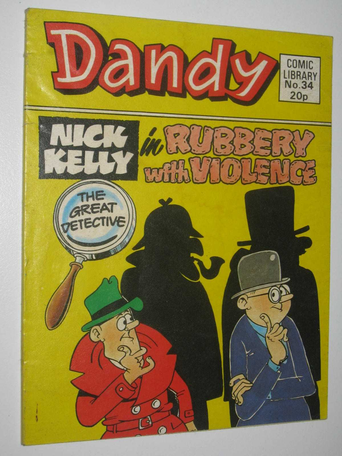 "Image for Nick Kelly in ""Rubbery with Violence"" - Dandy Comic Library #34"