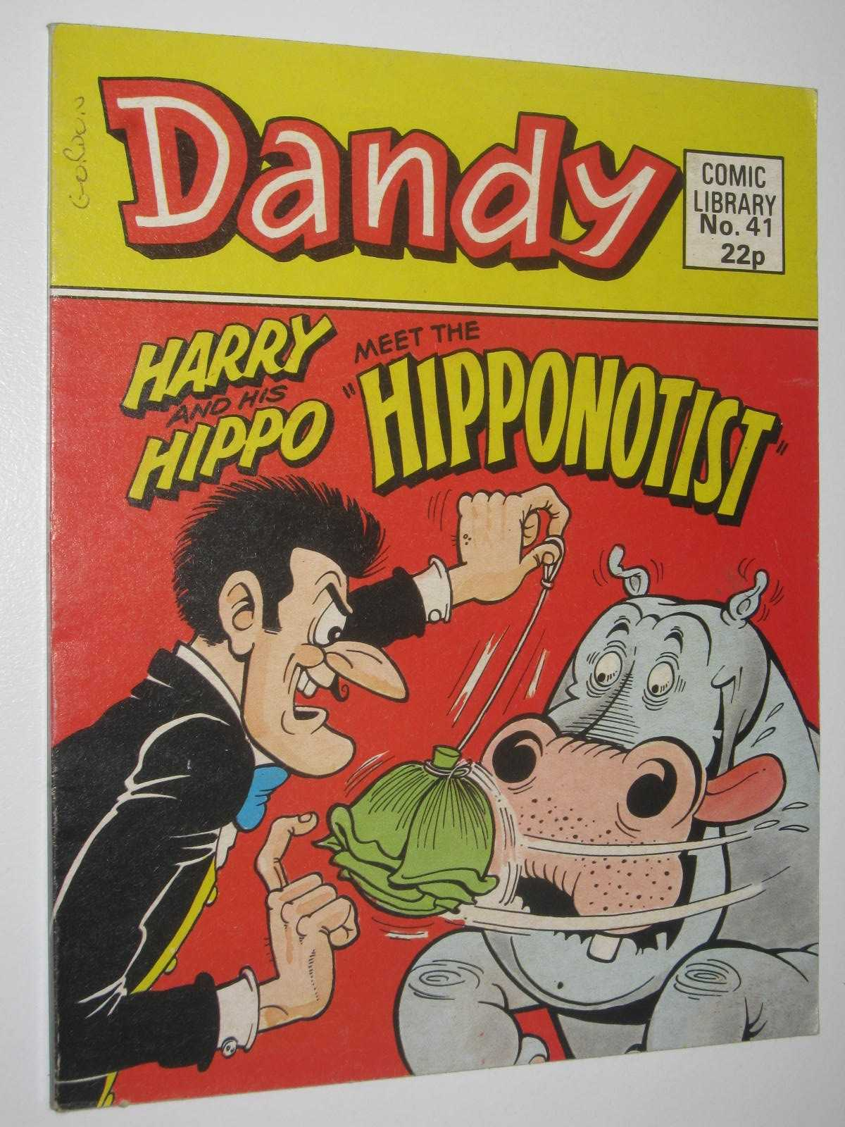 "Image for Harry and His Hippo Meet the ""Hipponotist"" - Dandy Comic Library #41"