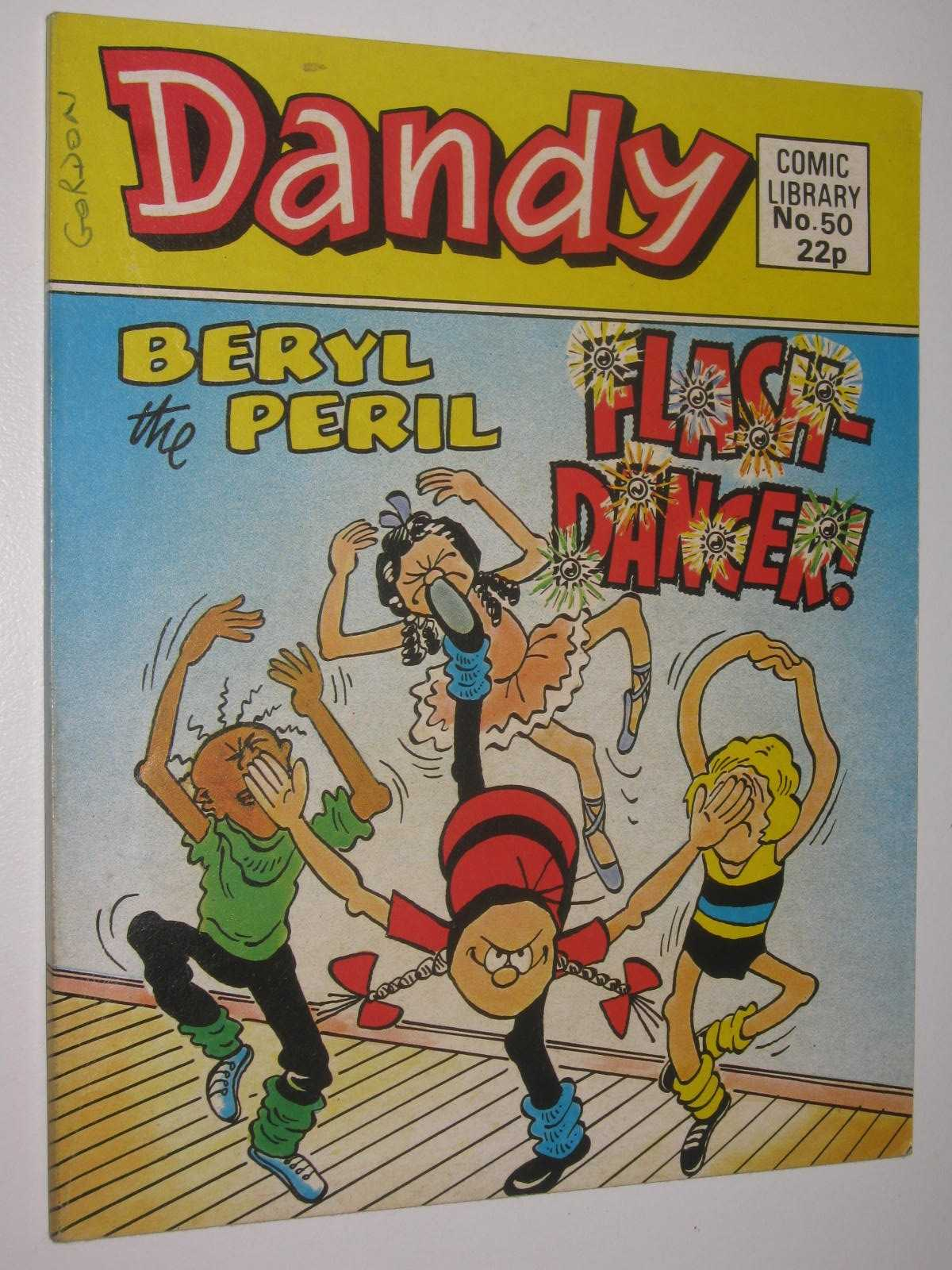 "Image for Beryl the Peril in ""Flash-Dancer!"" - Dandy Comic Library #50"
