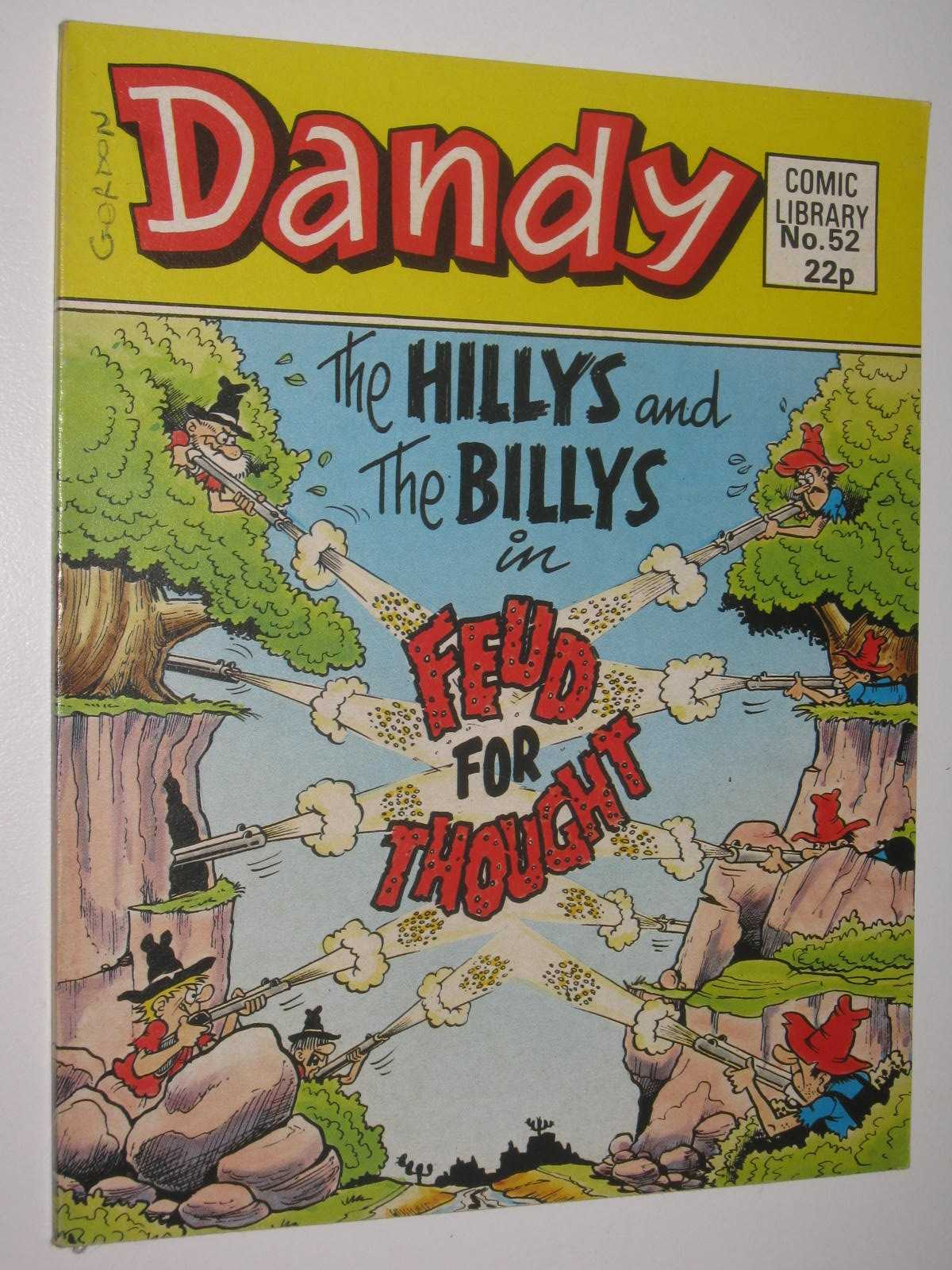 """Image for The Hillys and the Billys in """"Feud for Thought"""" - Dandy Comic Library #52"""