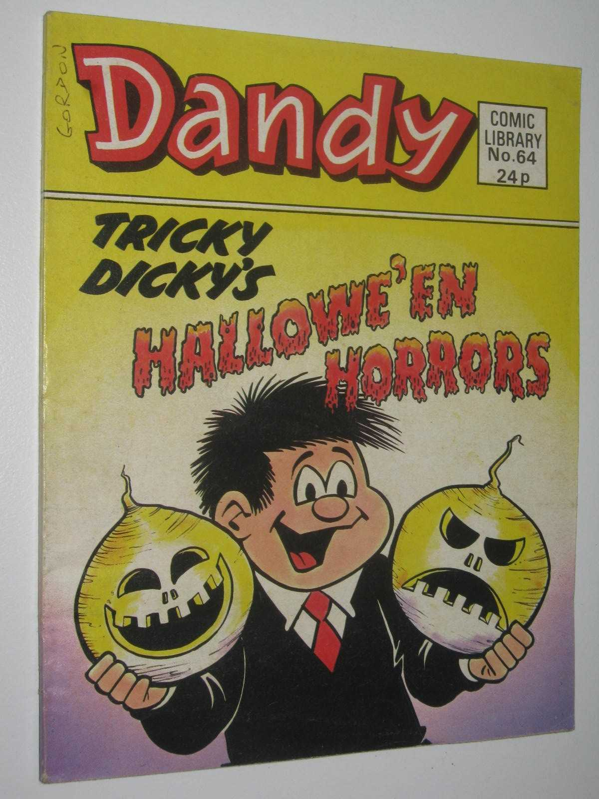Image for Tricky Dicky's Hallowe'en Horrors - Dandy Comic Library #64