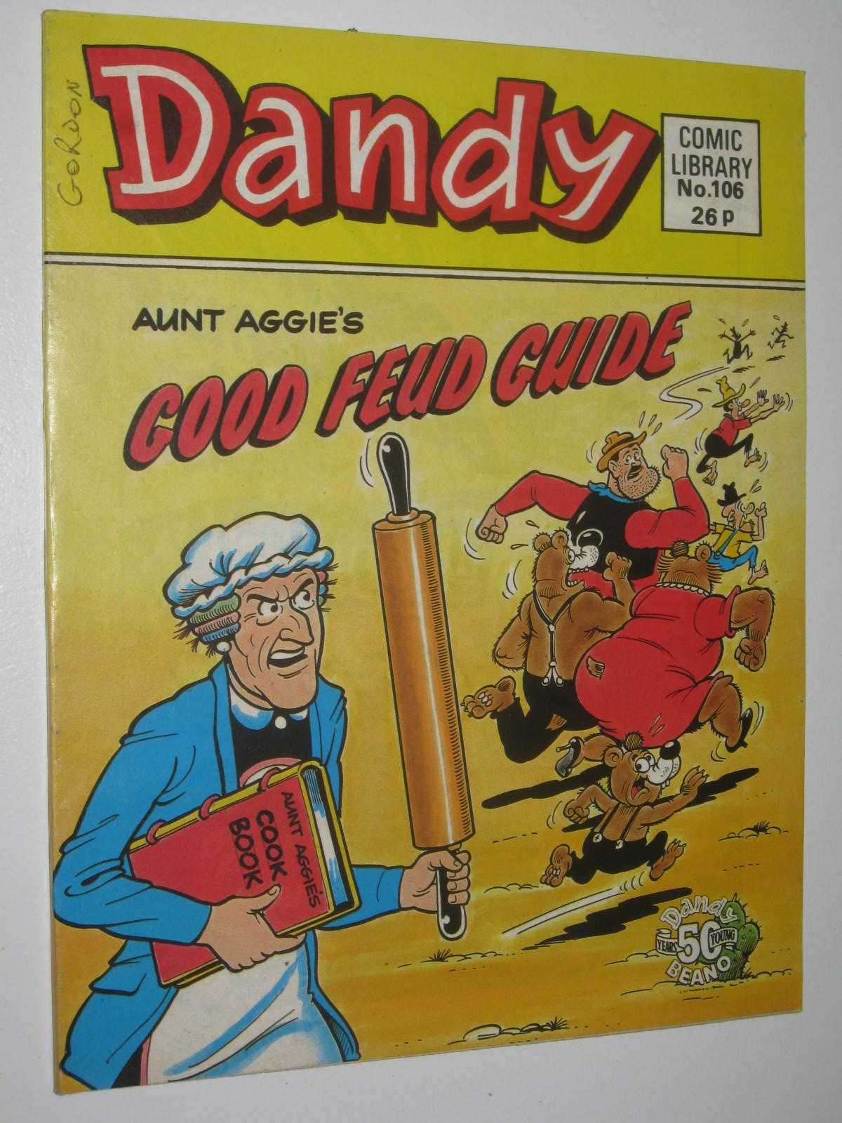 Image for Aunt Aggie's Good Feud Guide - Dandy Comic Library #106