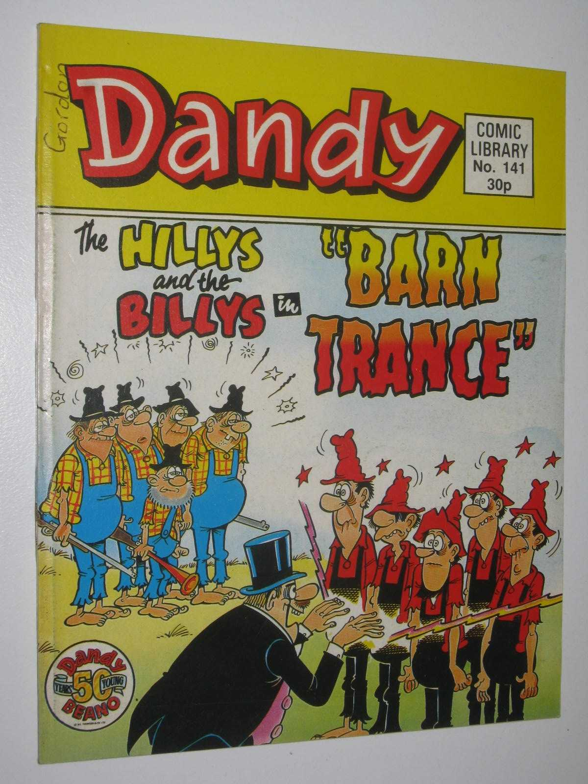 "Image for The Hillys and the Billys in ""Barn Trance"" - Dandy Comic Library #141"