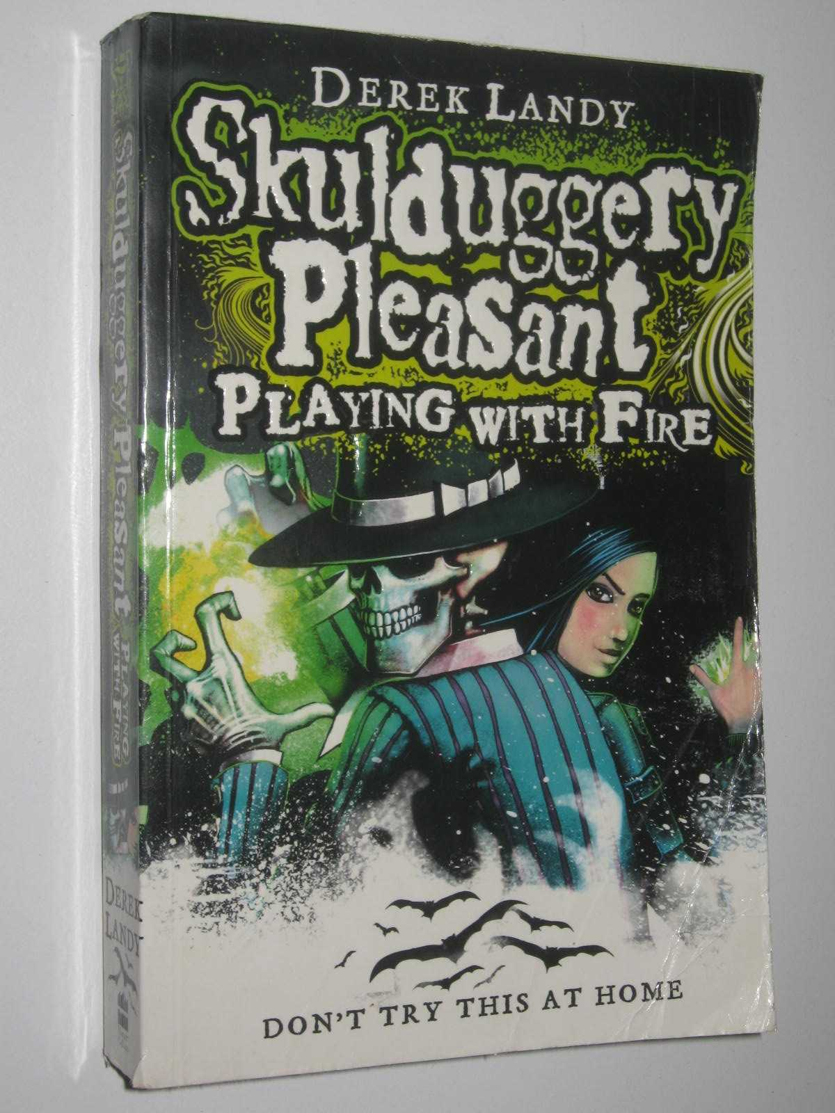 Image for Playing with Fire - Skulduggery Pleasant Series #2