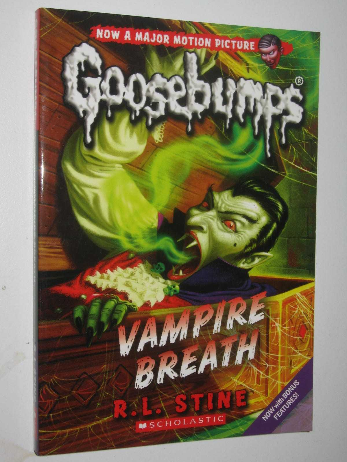 Image for Vampire Breath - Goosebumps Series #49