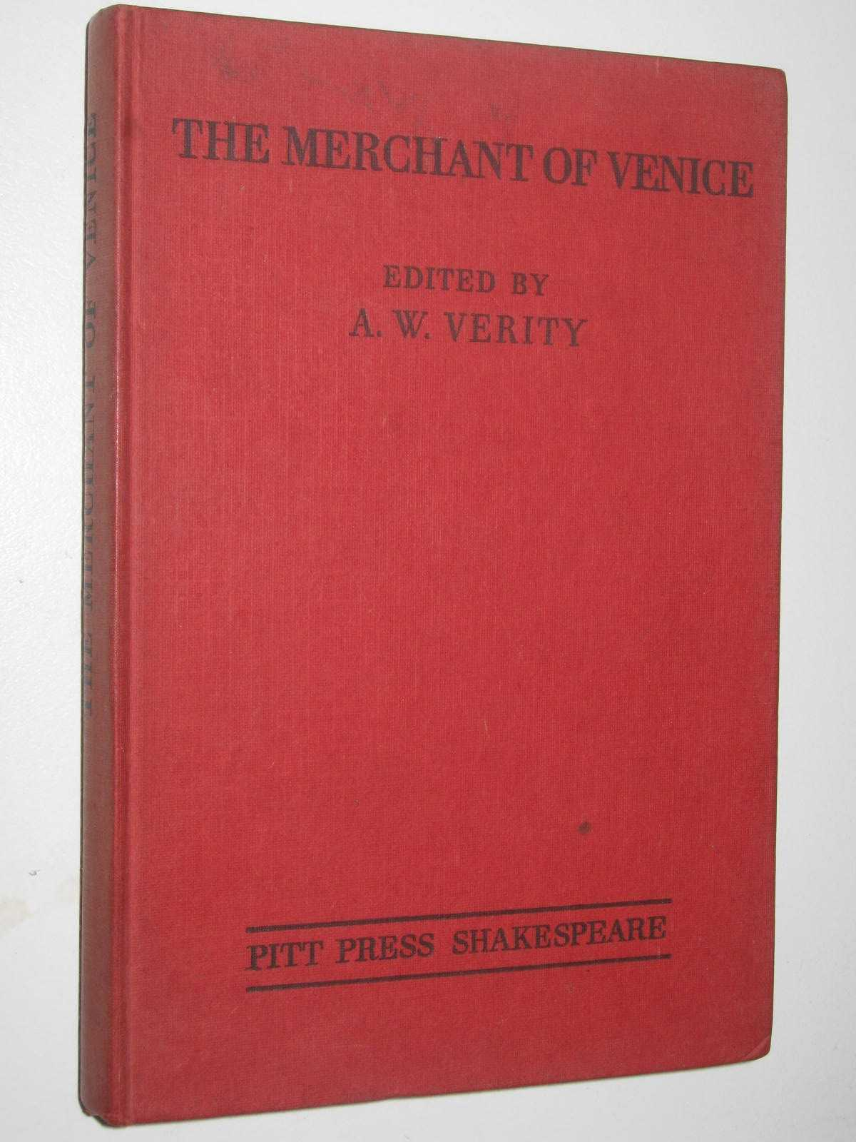 Image for Shakespeare The Merchant Of Venice