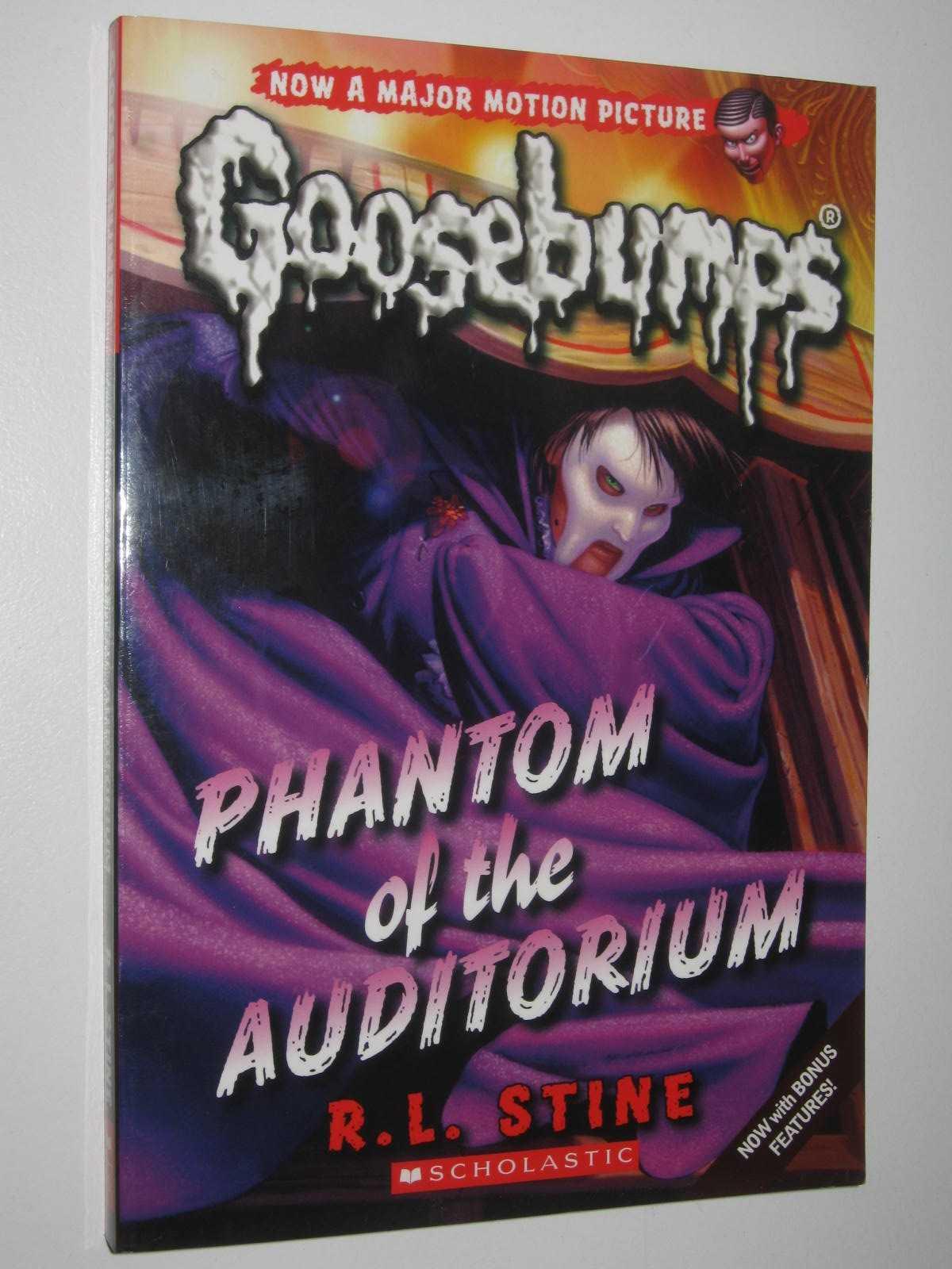 Image for Phantom of the Auditorium - Goosebumps Series #24