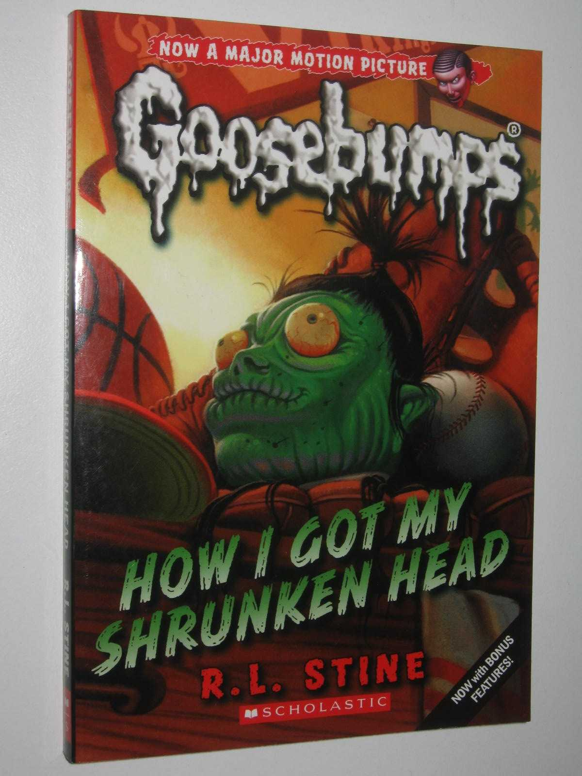 Image for How I Got My Shrunken Head - Goosebumps Series #10