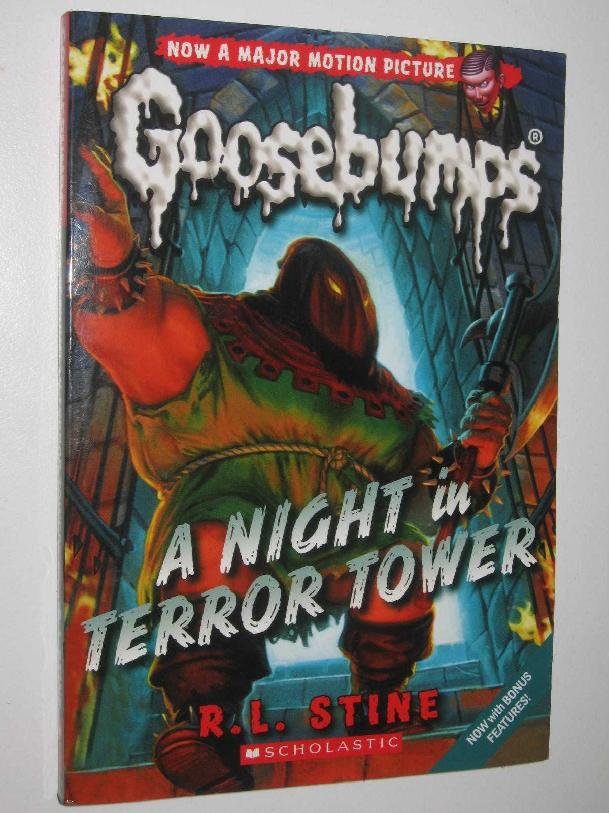 Image for A Night in Terror Tower - Goosebumps Series #12