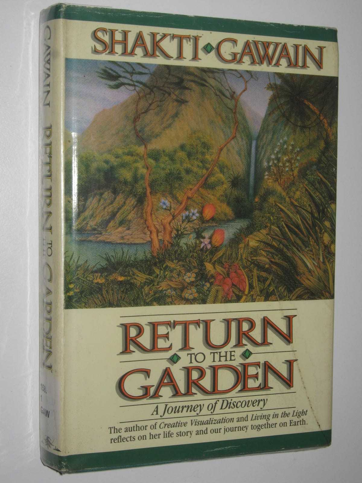 Image for Return To The Garden : A Journey Of Discovery