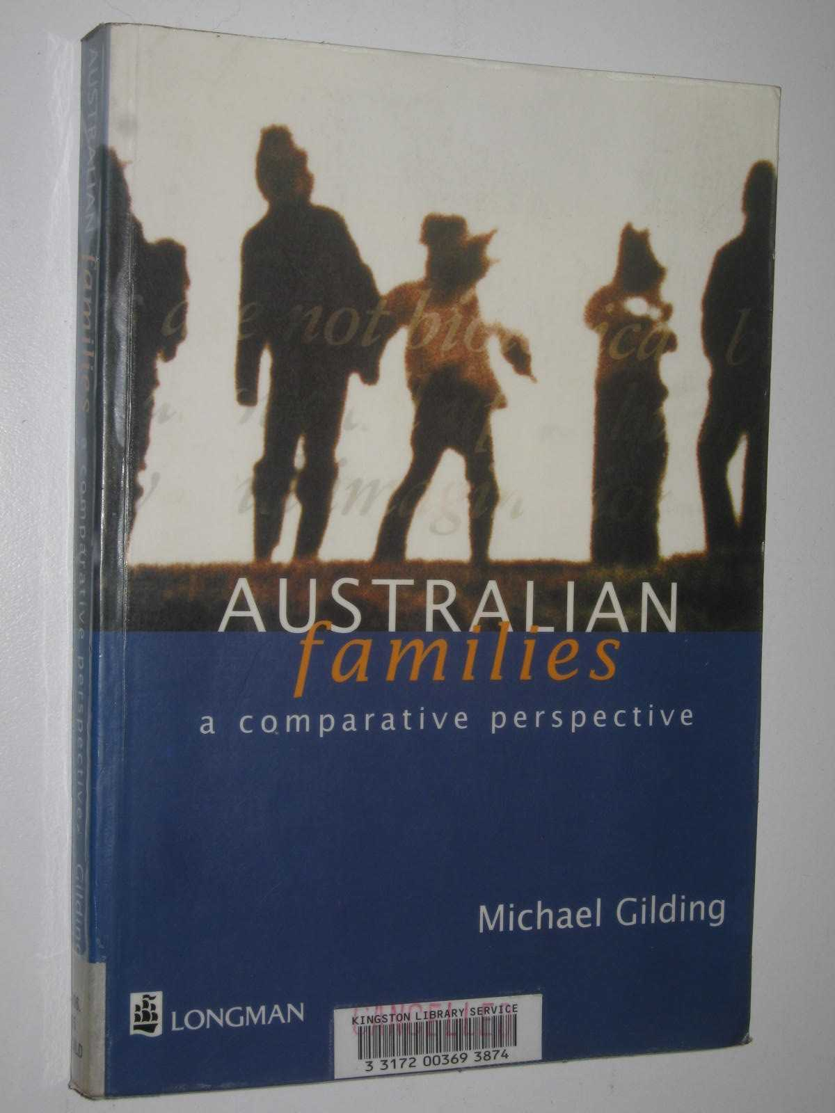 Image for Australian Families : A Comparative Perspective