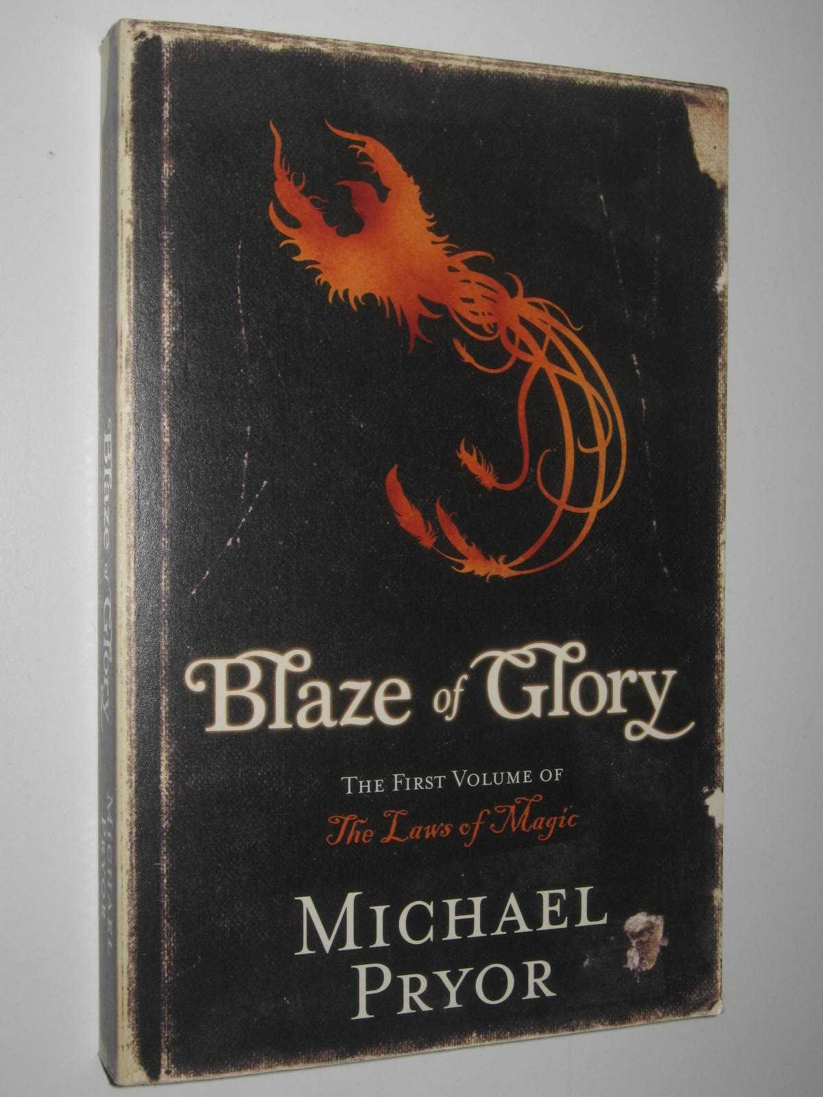 Image for Blaze of Glory - The Laws of Magic Series #1