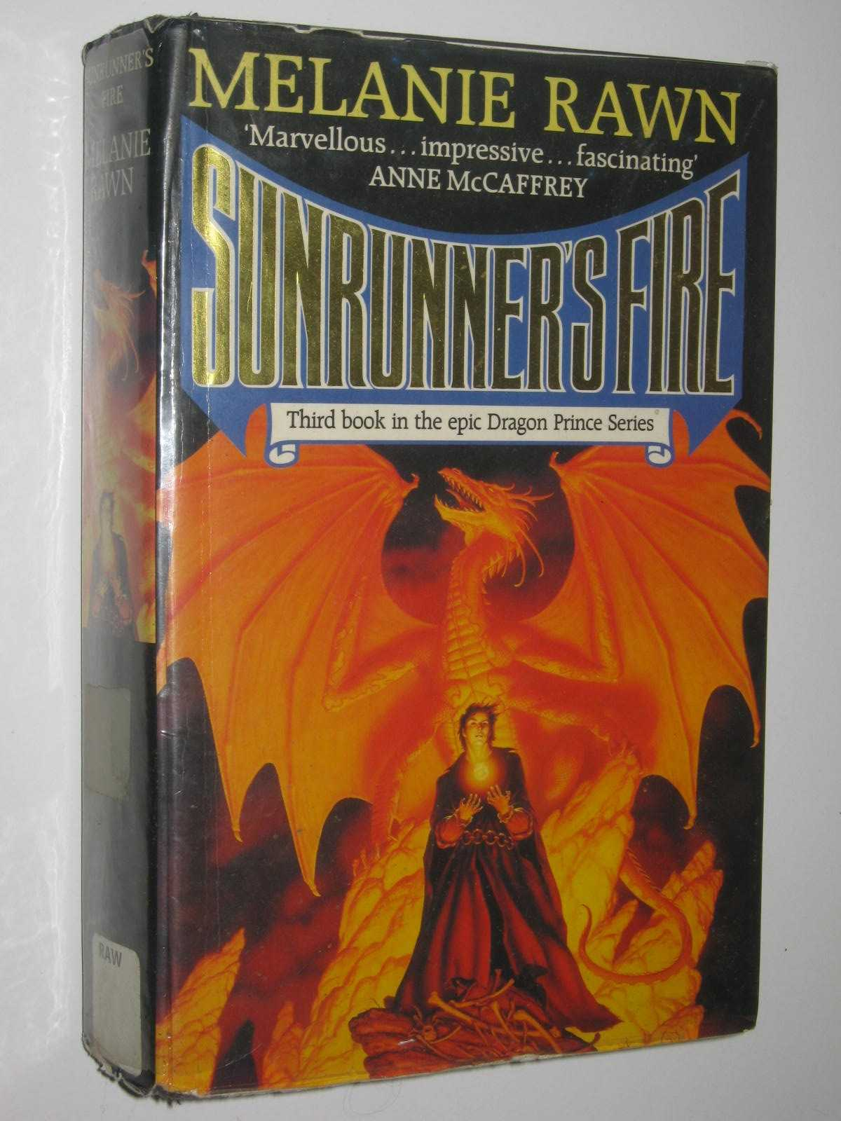 Image for Sunrunner's Fire - Dragon Prince Series #3