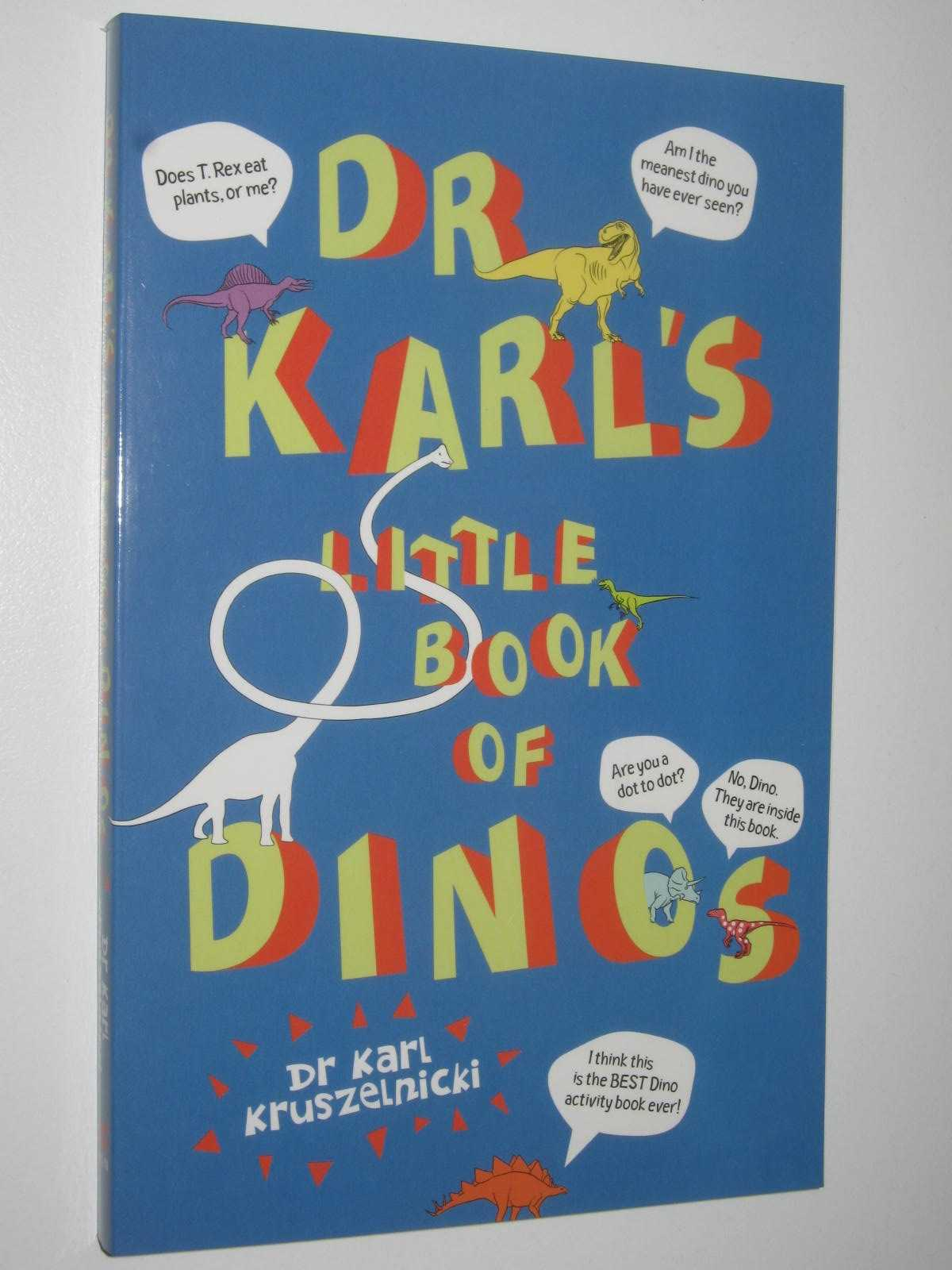 Image for Dr Karl's Little Book Of Dinos