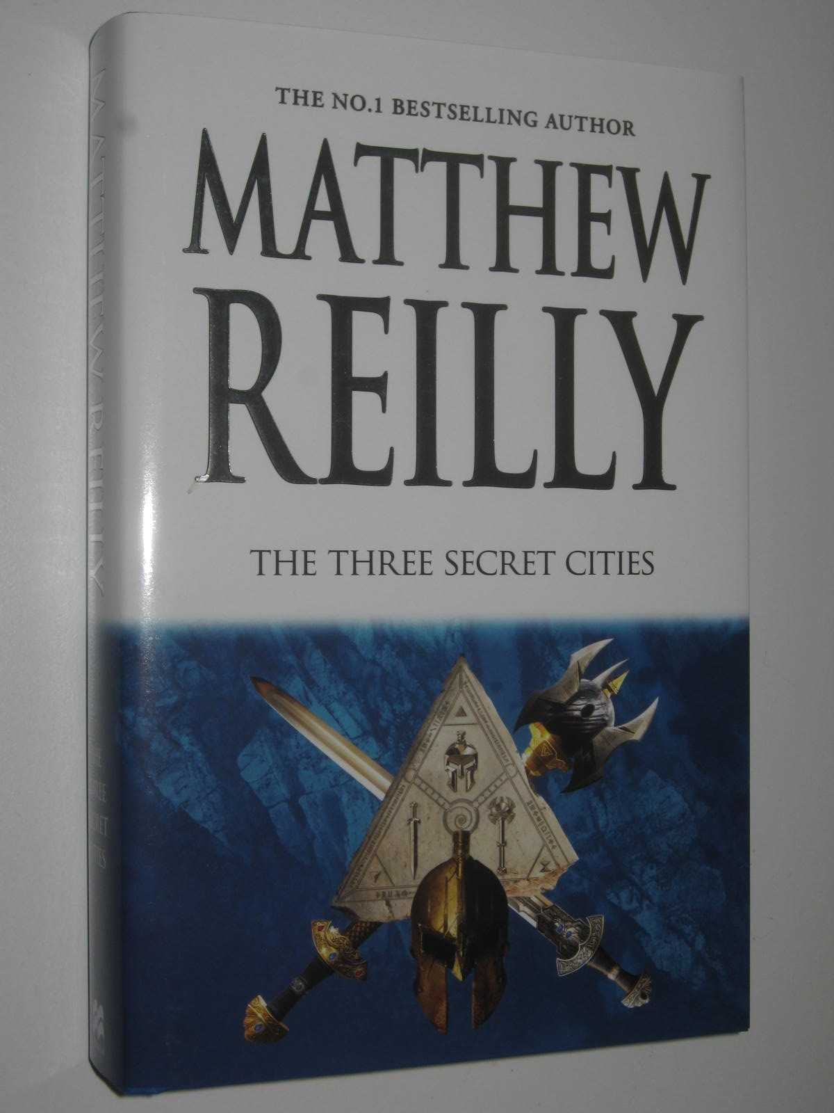 Image for The Three Secret Cities - Jack West Series #5