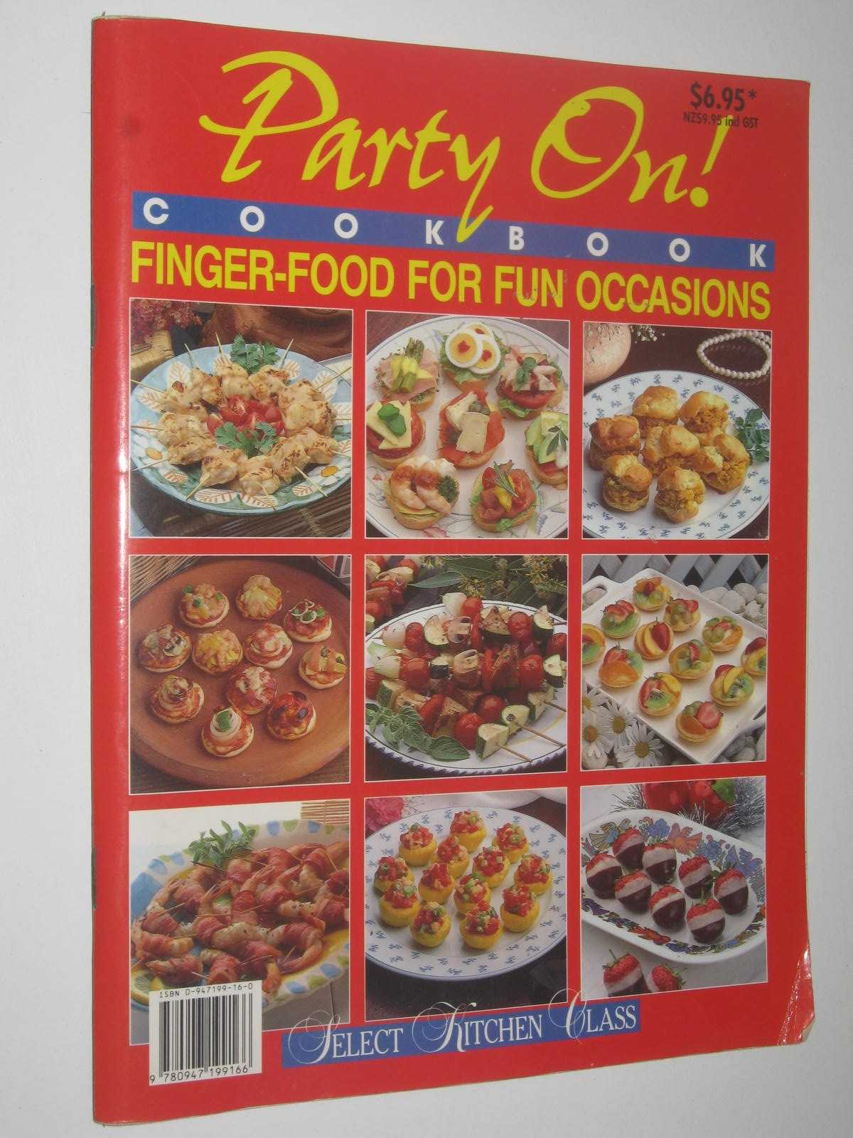 Image for Party On! Cookbook : Finger-Food For Fun Occasions