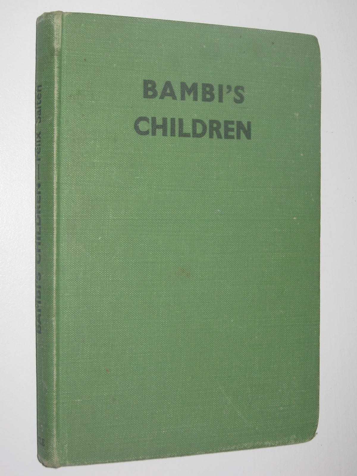 Image for Bambi's Children