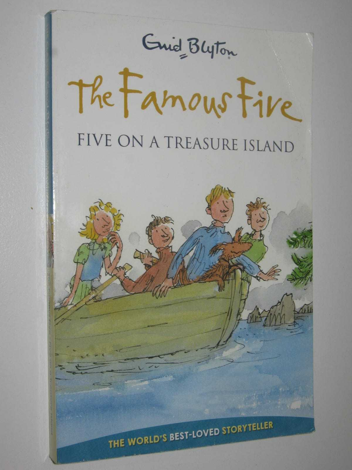 Image for Five on a Treasure Island - Famous Five Series #1
