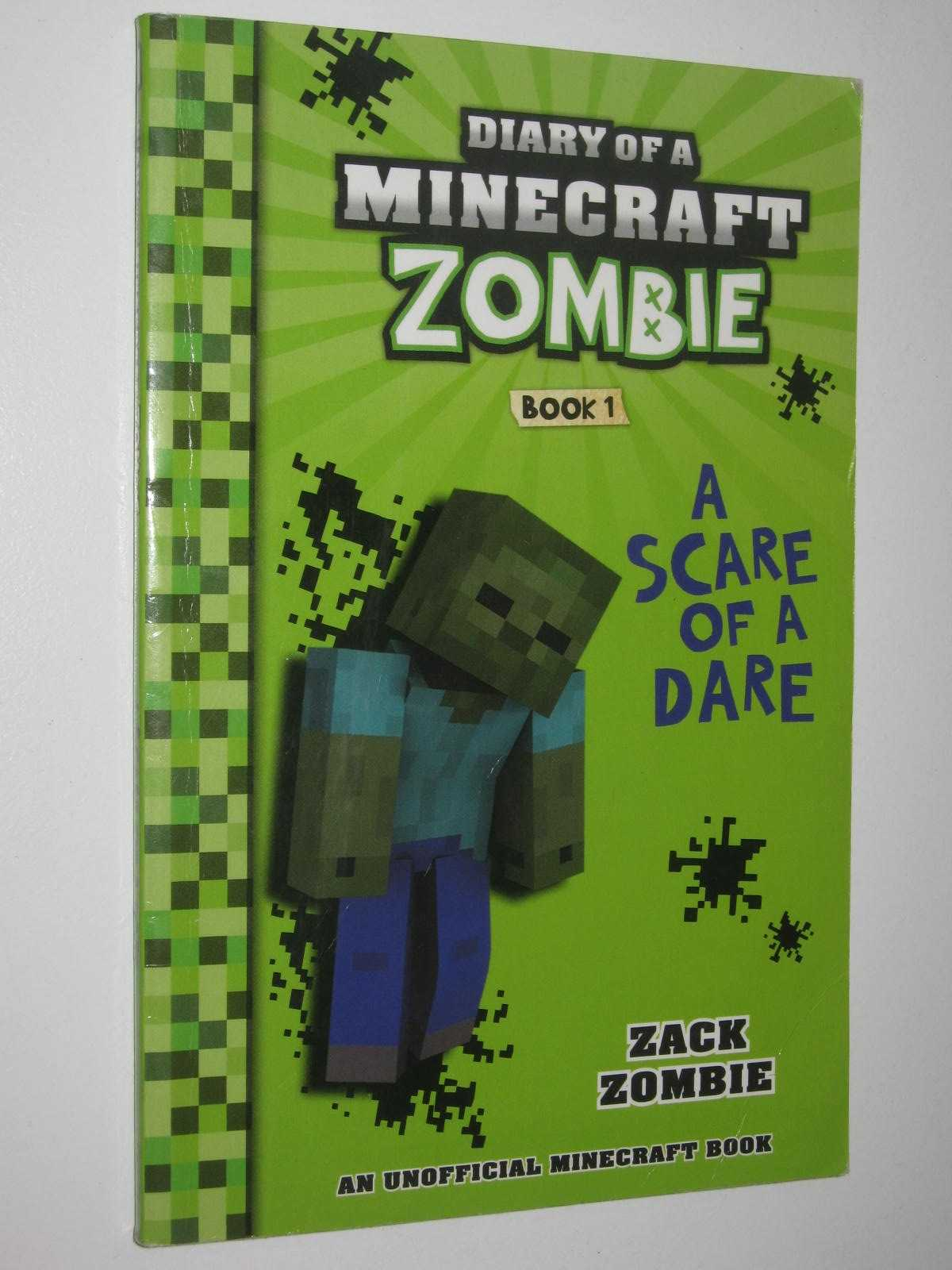 Image for A Scare of a Dare - Diary of a Minecraft Zombie Series #1