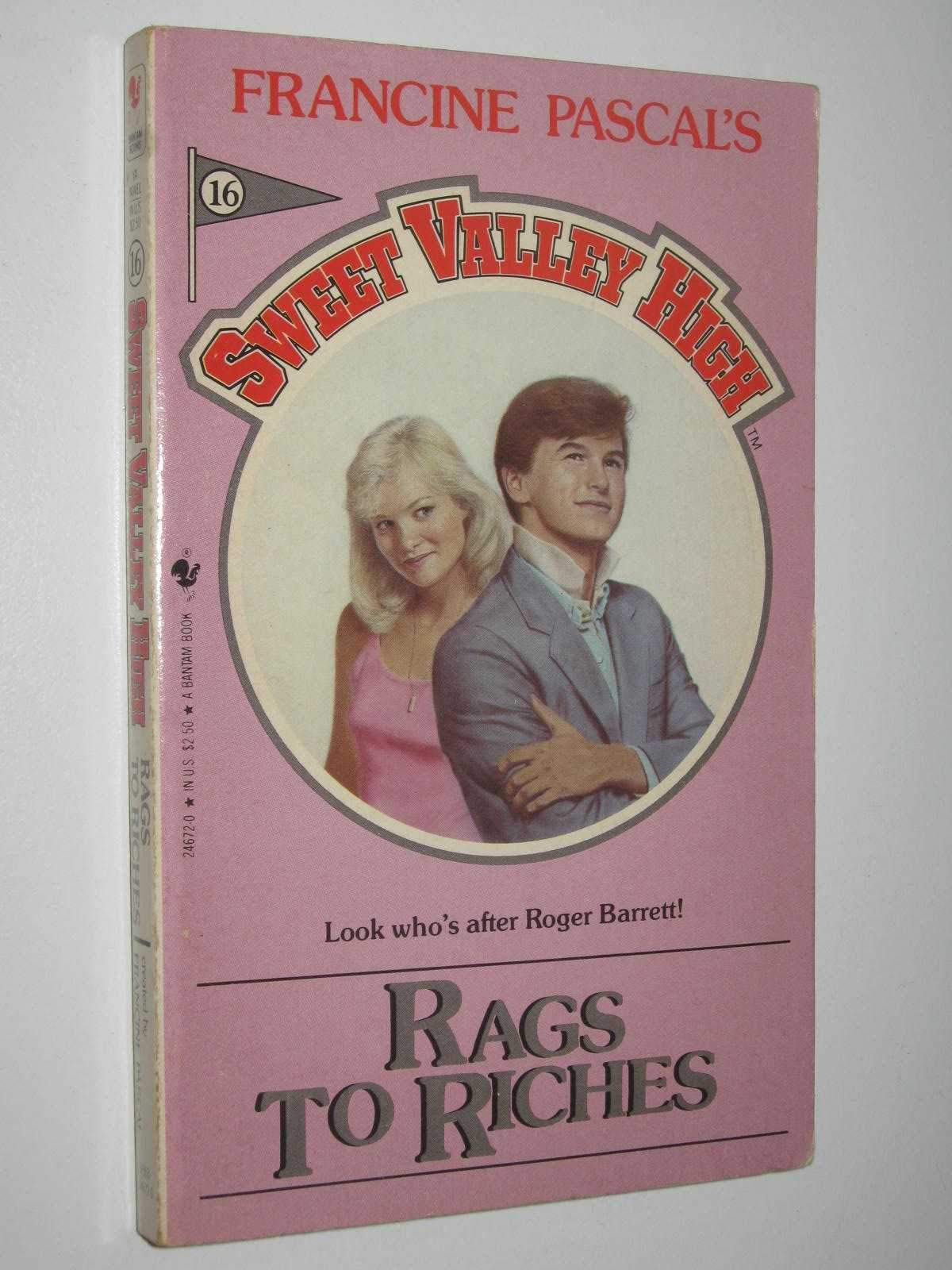 Image for Rags to Riches - Sweet Valley High Series #16
