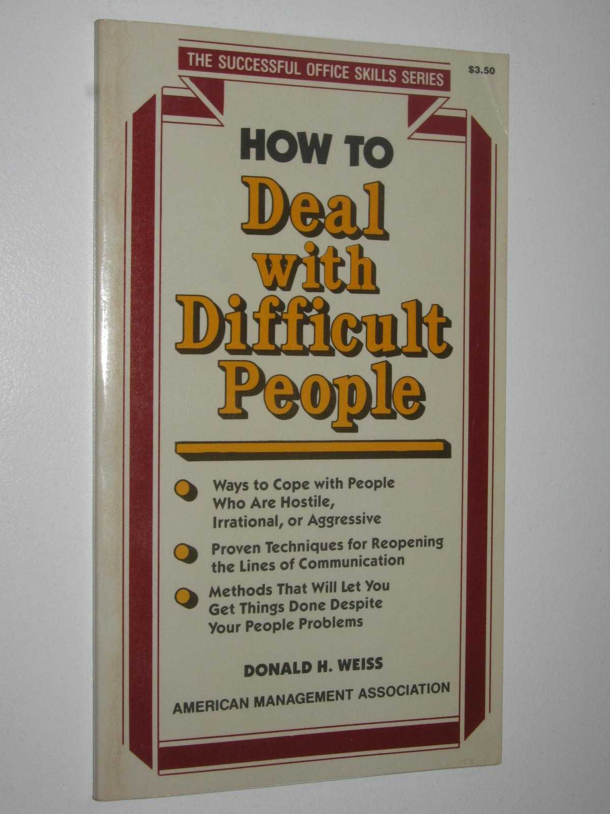 Image for How To Deal With Difficult People