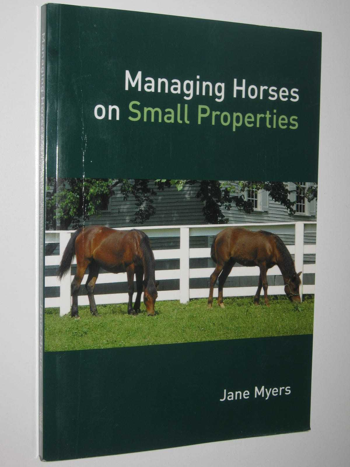 Image for Managing Horses on Small Properties
