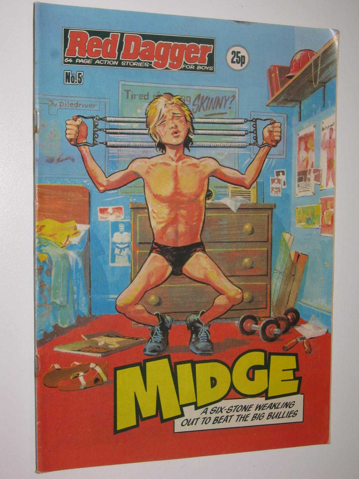 Image for Red Dagger No. 5: Midge : 64 Page Action Stories for Boys