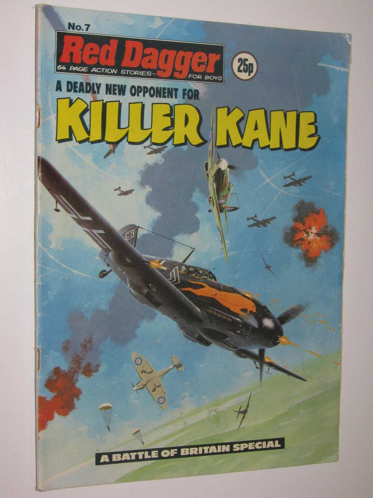 Image for Red Dagger No. 7: Killer Kane : 64 Page Action Stories for Boys